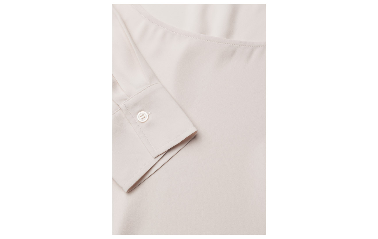 Filippa Pintuck 100 Polyester Blouse Rouge K r8aqAr