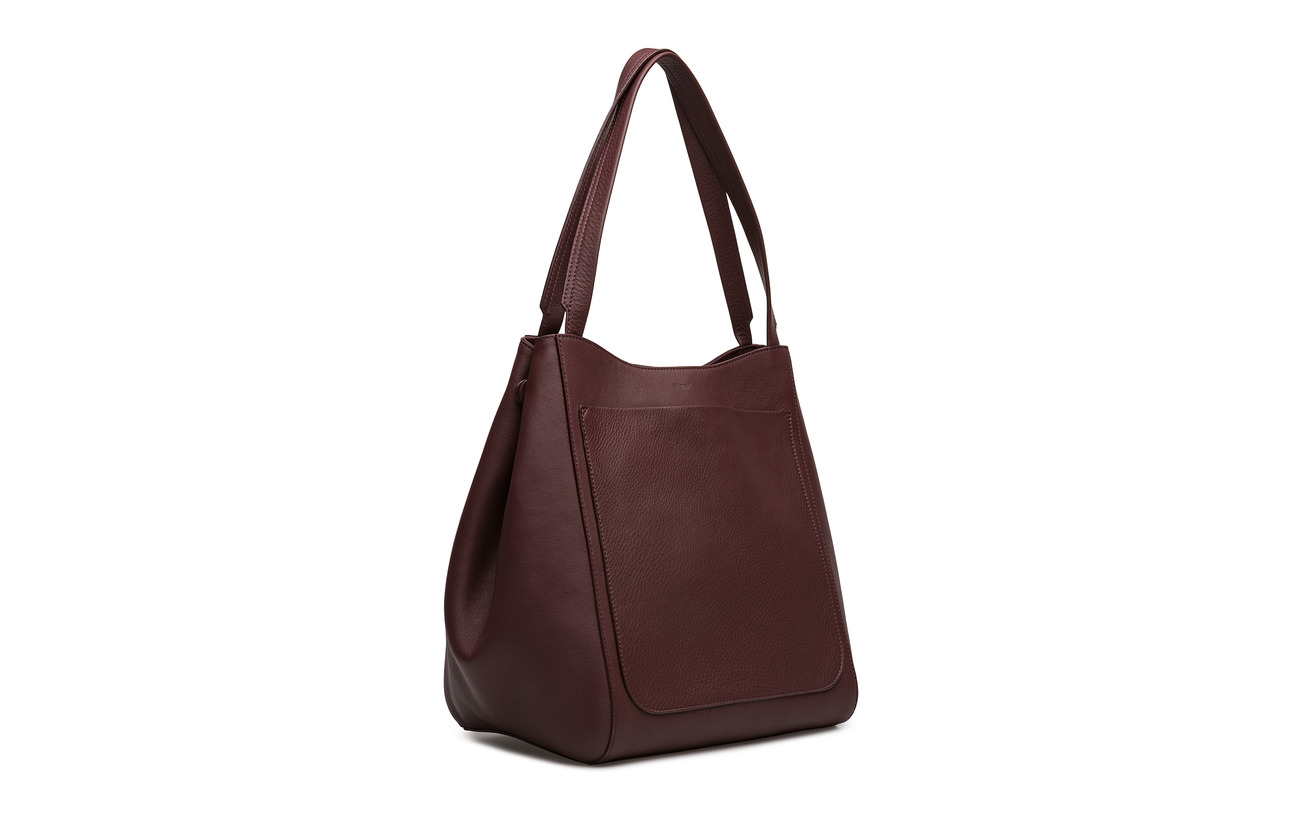 Filippa Shelby K Cowleather Bucket 100 Leather Bag Bordeaux 1H4WcF1ar