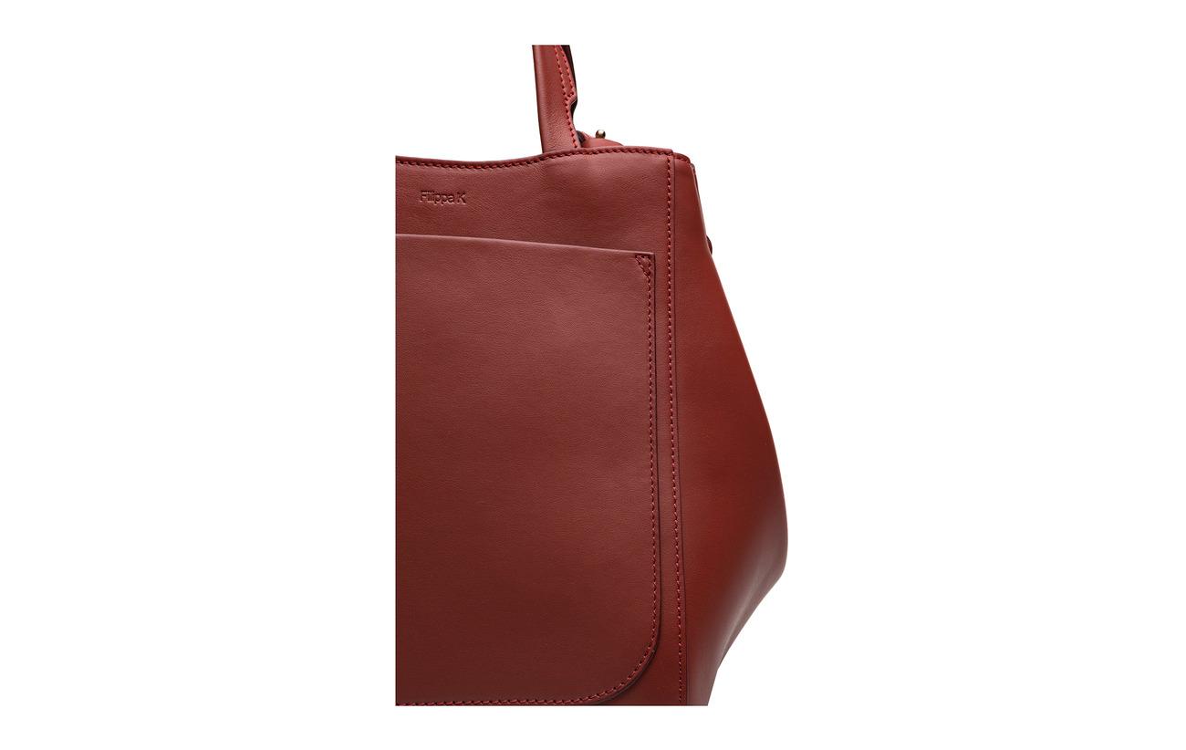 Shelby Filippa 100 Brick Cowleather Bucket Mini Leather Bag K w44g57