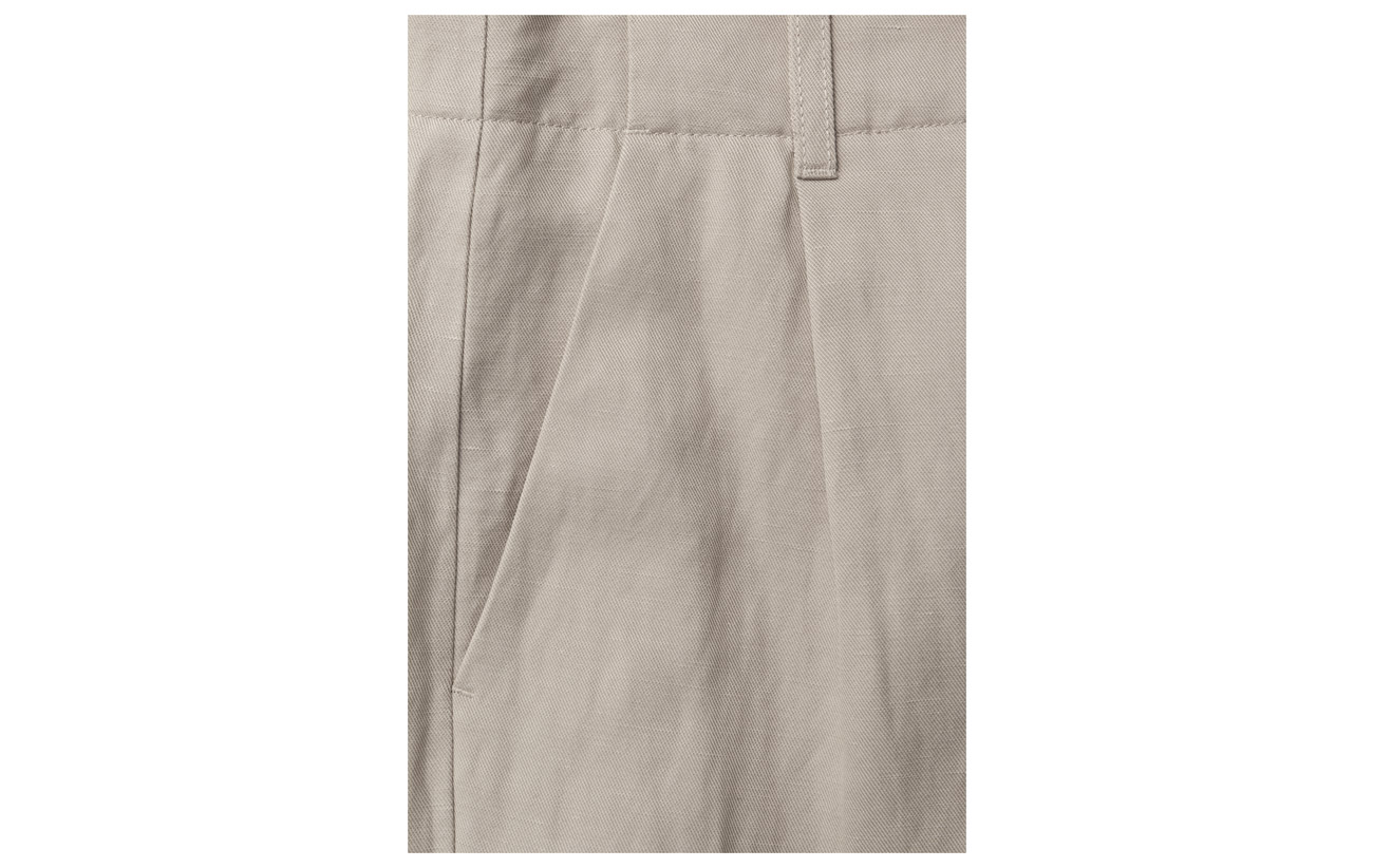 Lyocell Lin Cropped Filippa 48 18 Trousers K Max Wide Coton Petal 34 wppn0S1qz
