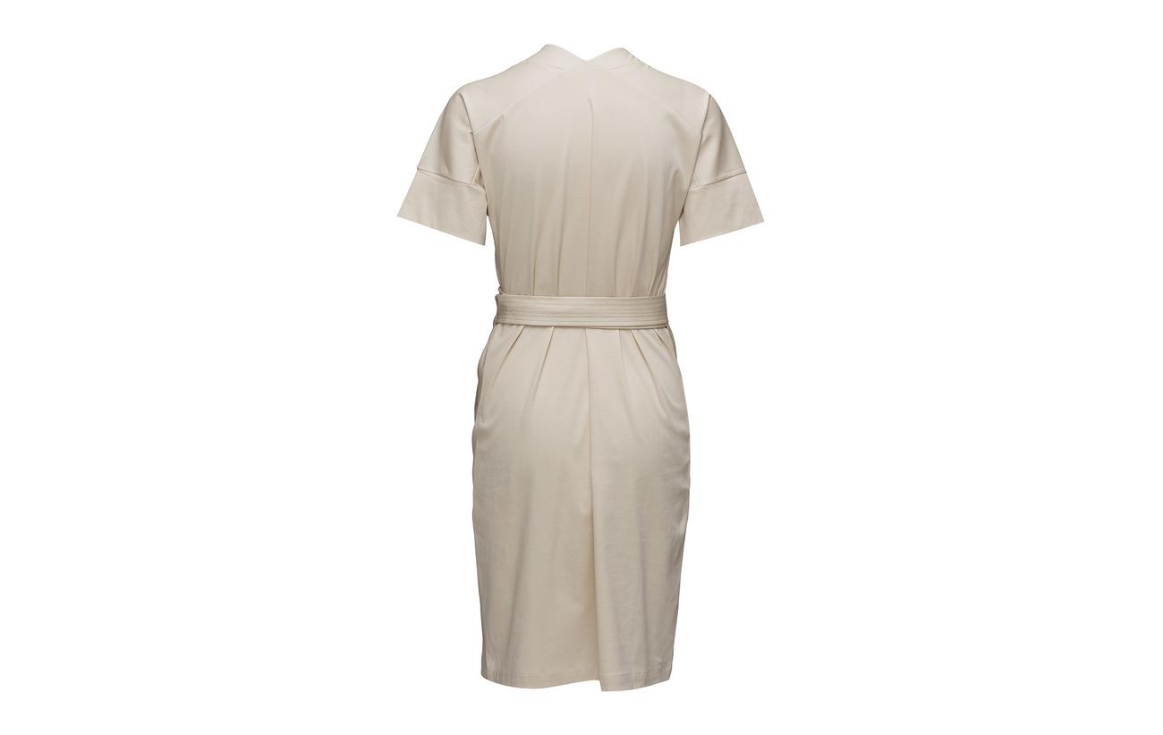 Wrap Coton Belted Bone 100 K Dress Filippa AwqzxE6A