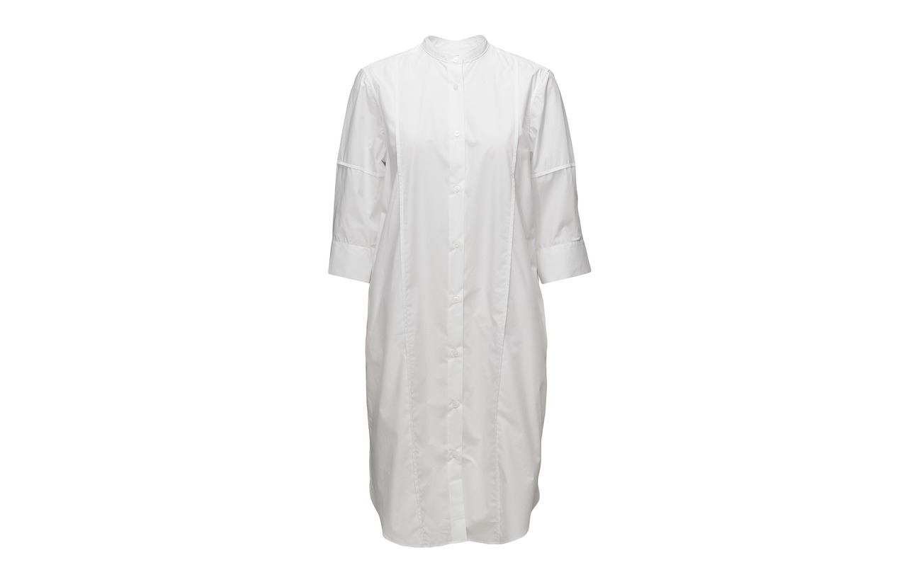 K Dress Cotton 100 Filippa White Shirt Coton vdtZwxq