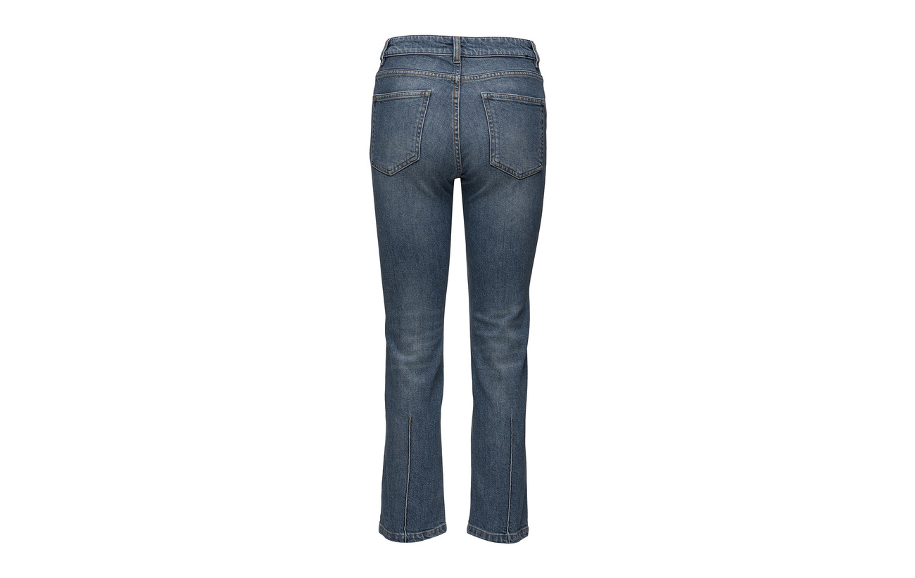 2 Su 98 Cropped Denim Elastane Coton Mid Vintage K Stella Filippa Blue afqUv0wv