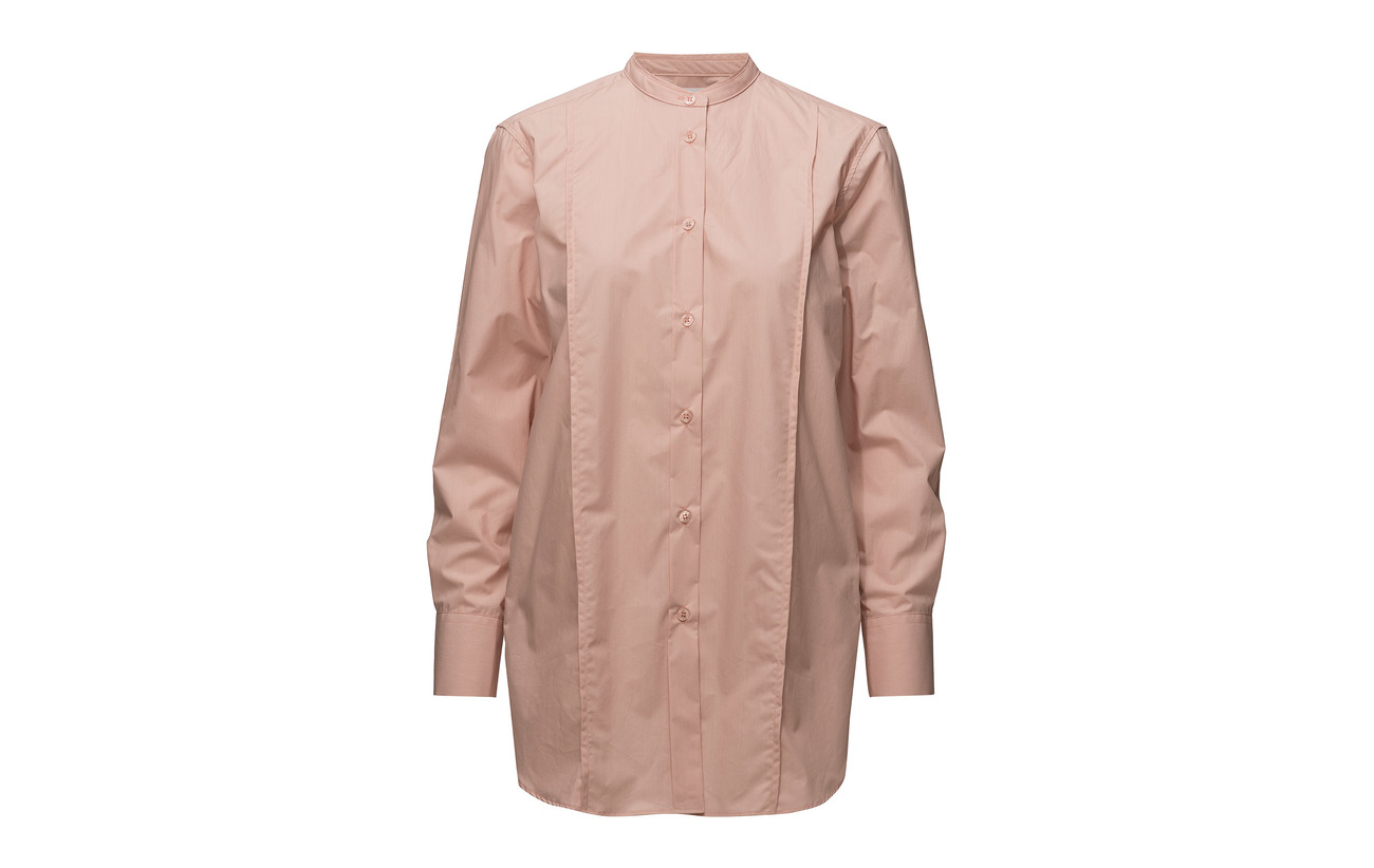 K Filippa Coton Shirt Petal Long Band 100 Collar dqqSP
