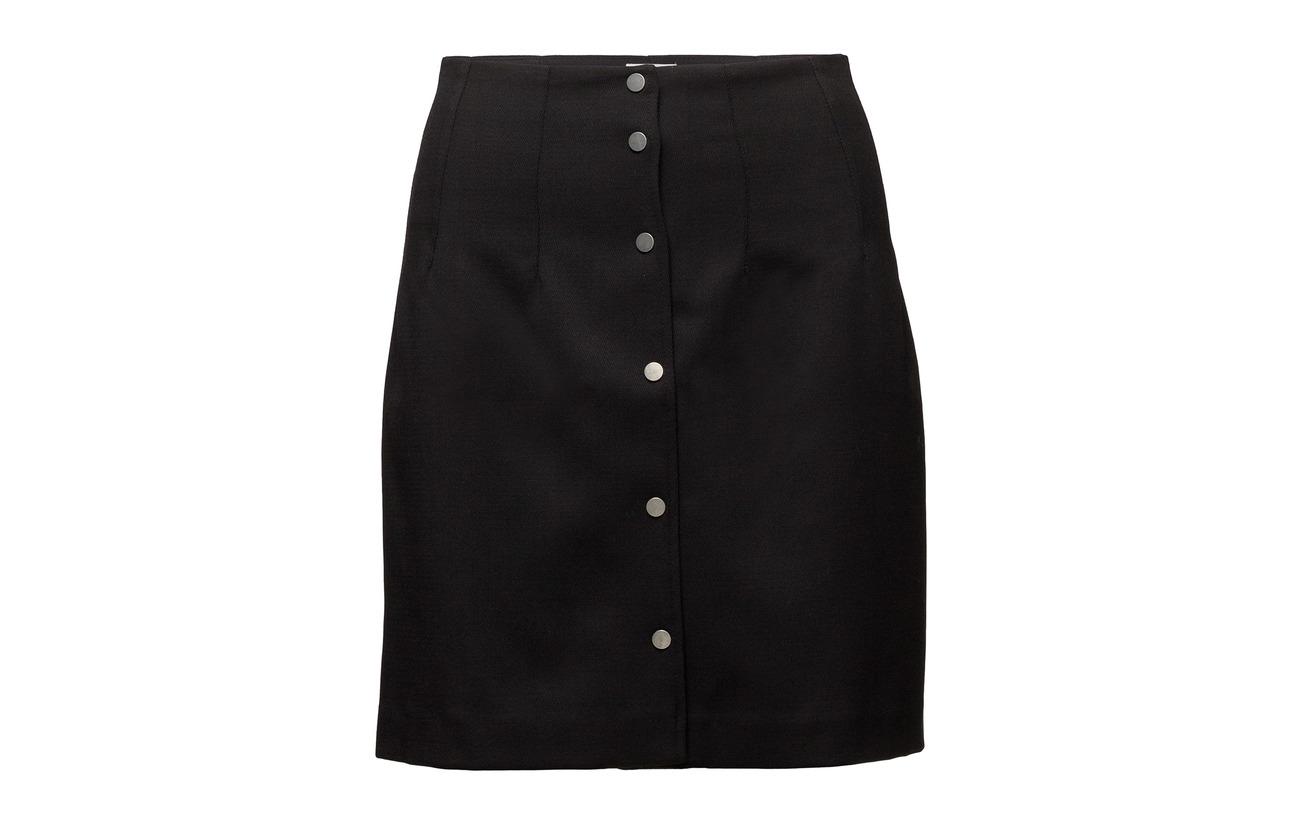 Laine Filippa Polyester Skirt 44 Twill 2 Black K Elastane 54 wWWxpn01