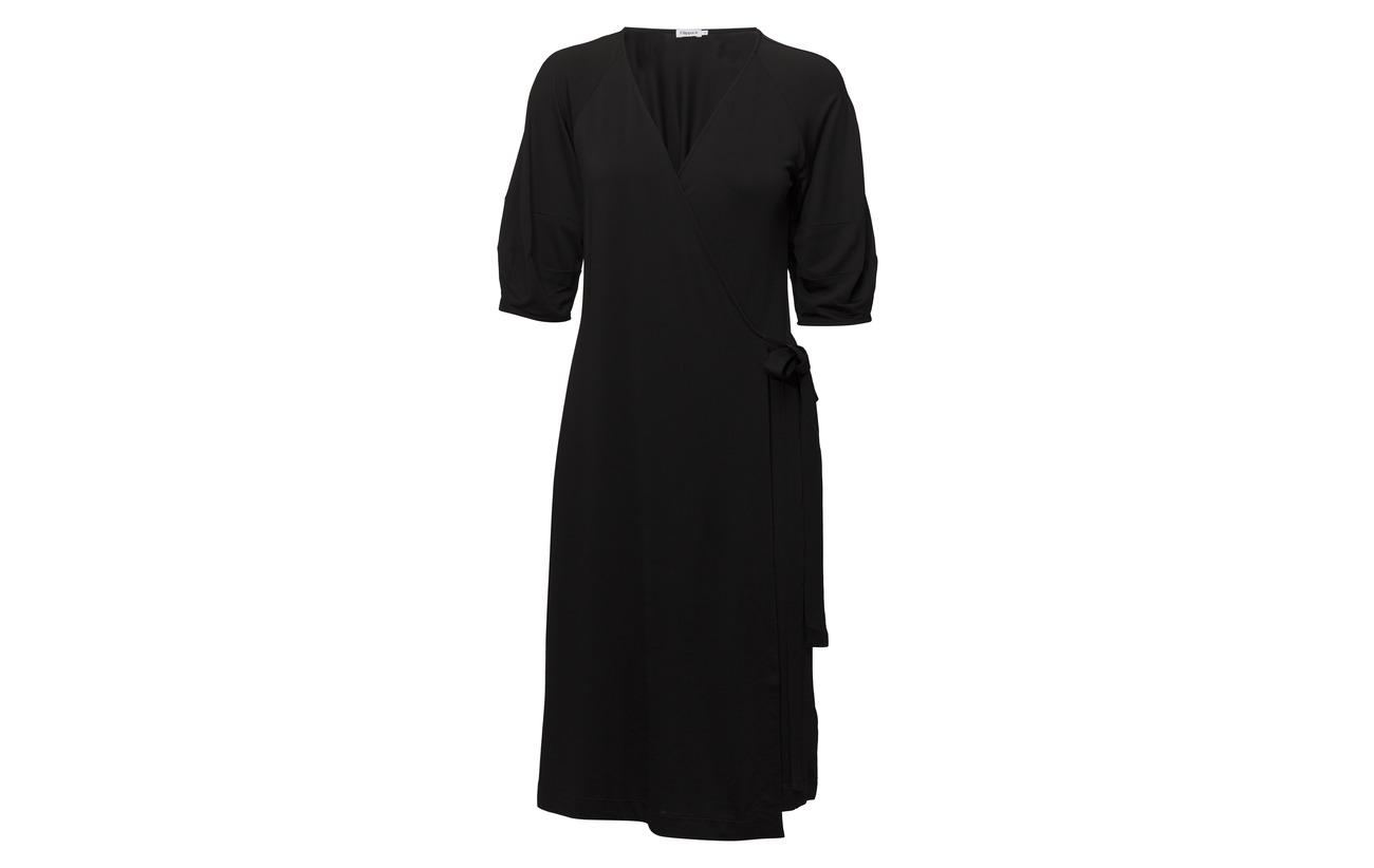 Wrap 6 Viscose Elastane Filippa Dress 94 Navy Jersey K OxZwFqzE
