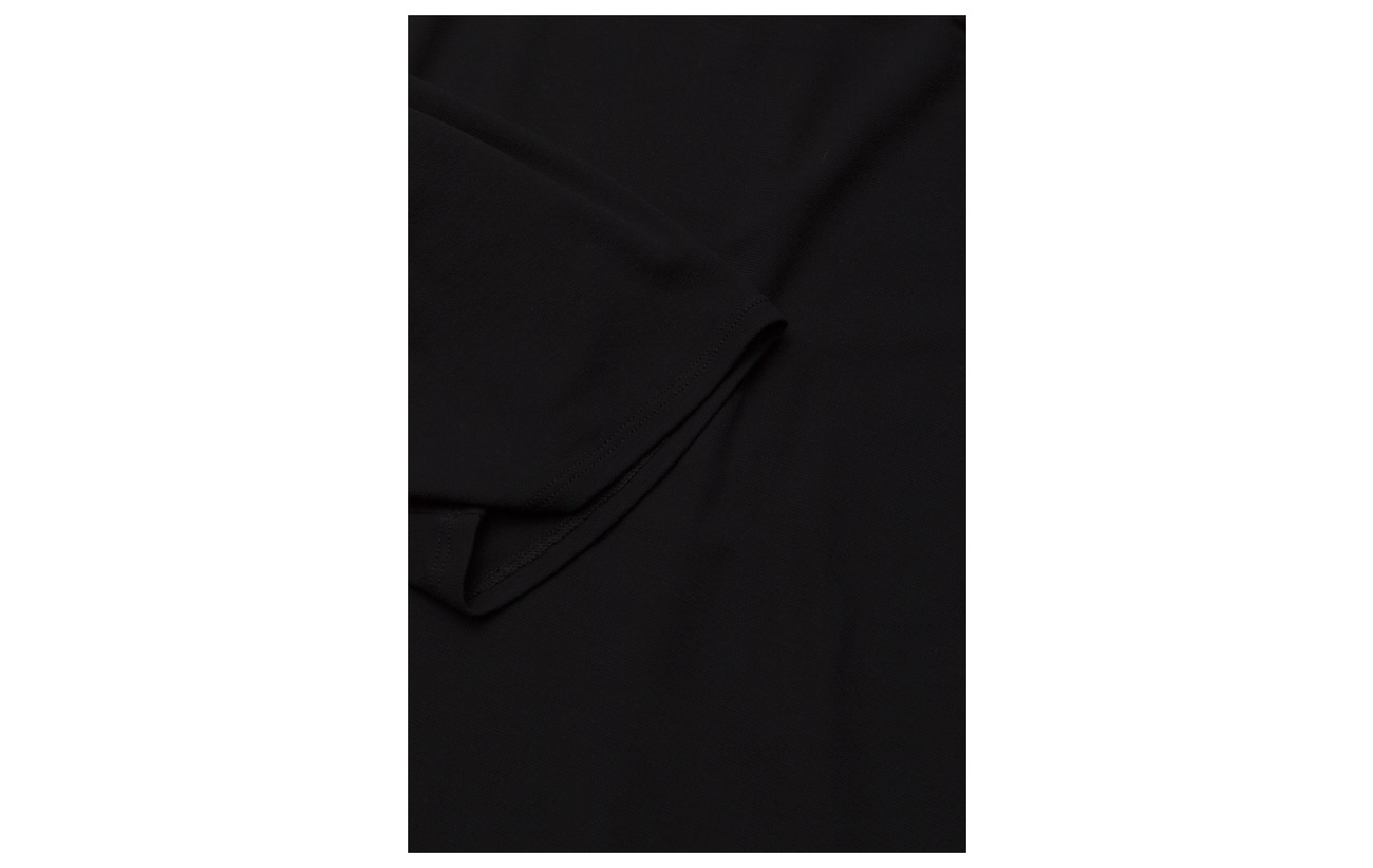 Cotton Filippa Top 100 Black Crepe K Coton Pleat 5AHqUA