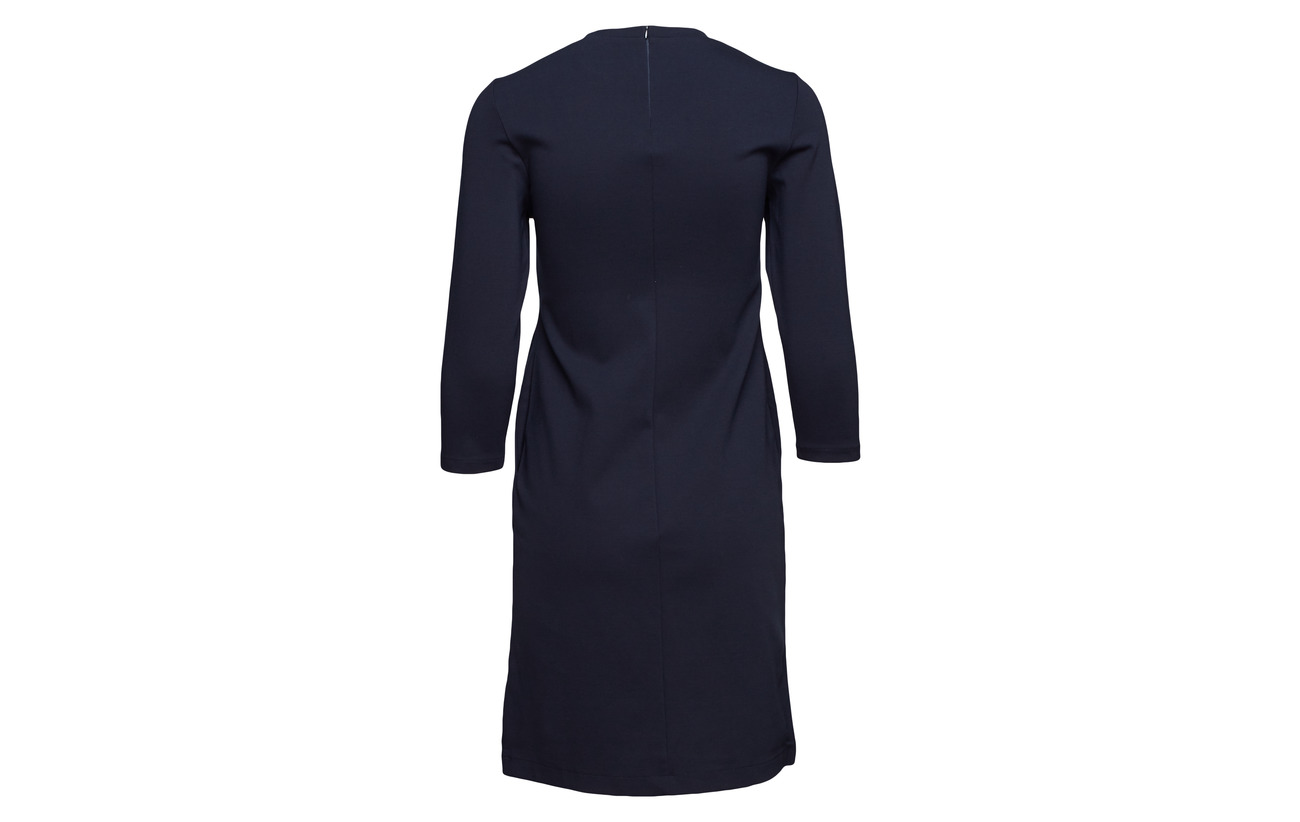 Pocket K Polyamide 6 Shift Dress 25 Viscose Navy 69 Elastane Filippa 56wxqp1dw
