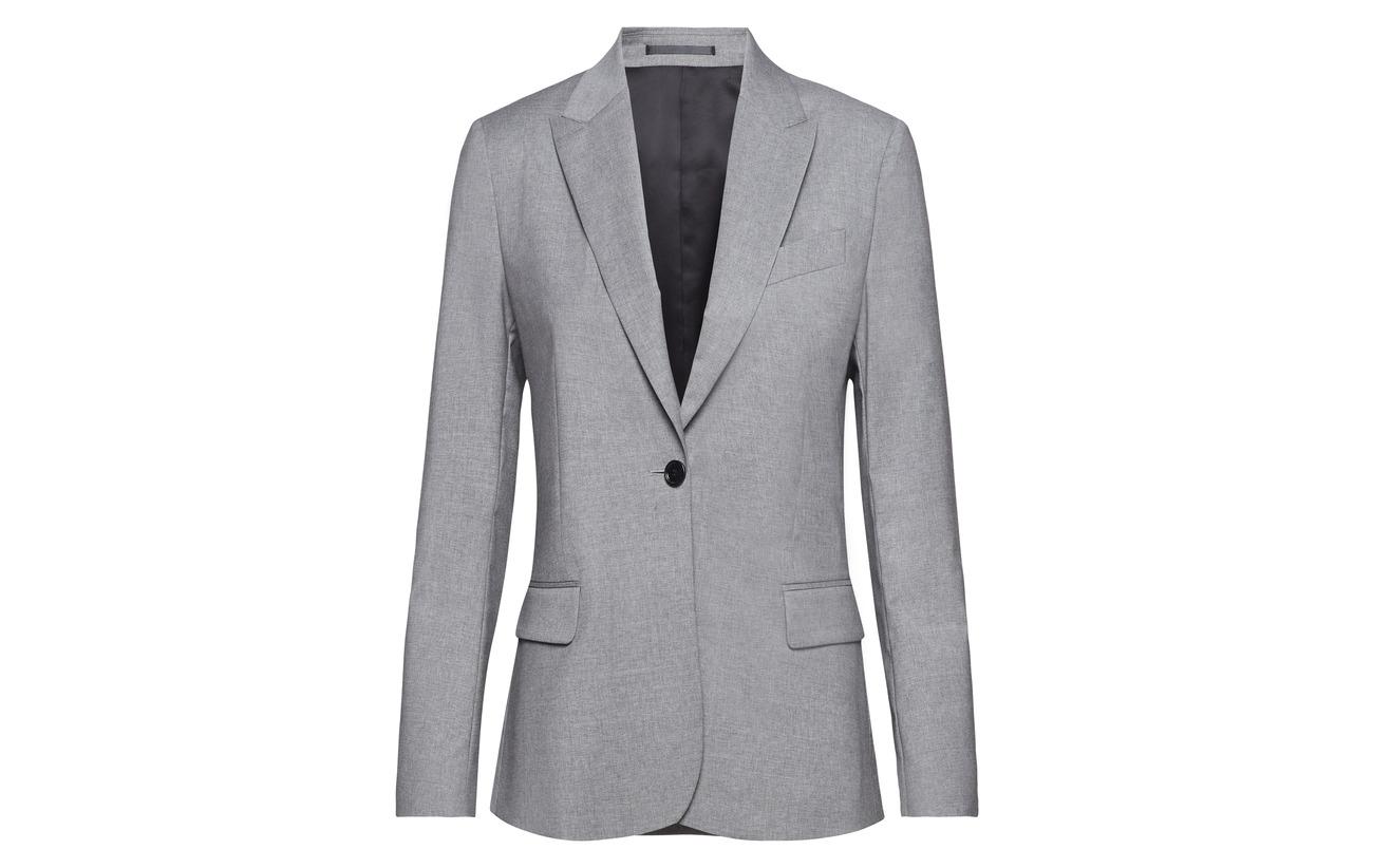 Light K Laine Wool Sasha Blazer Elastane Filippa 2 98 Grey Cool RxXAwAdqa