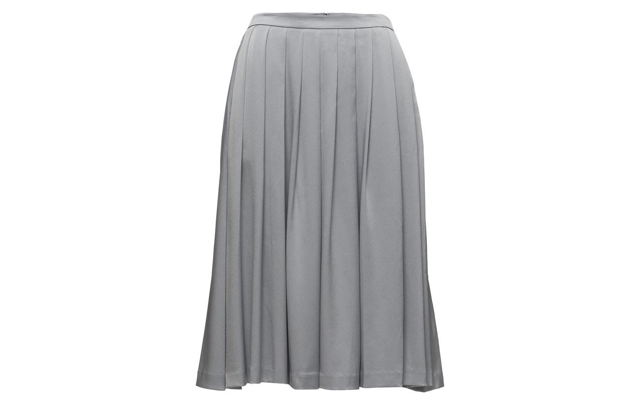 Polyester Filippa K Black Midi 18 Triacetate Pleated Skirt 82 wvqSwR8