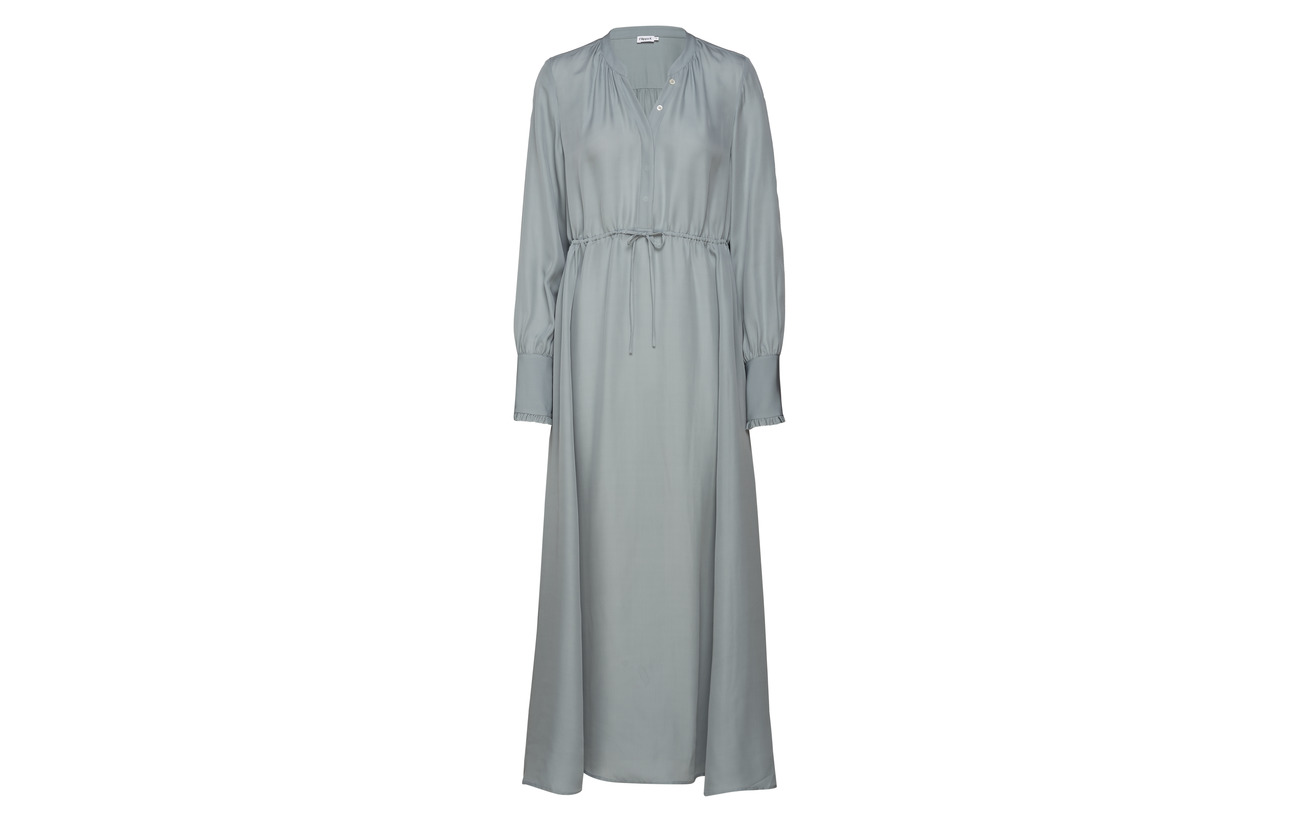 Soie Dress K Viscose Silk Flowy Filippa 37 Blue Dove 63 gUzA4Bw