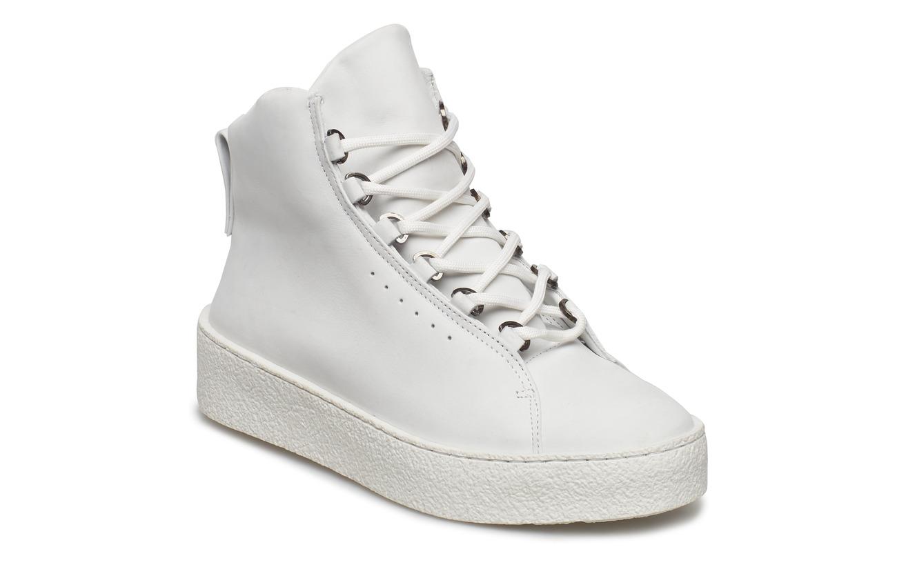 Anna Filippa Winter K White Laced Nubu 100 Cuir Boot 5qqOW1n