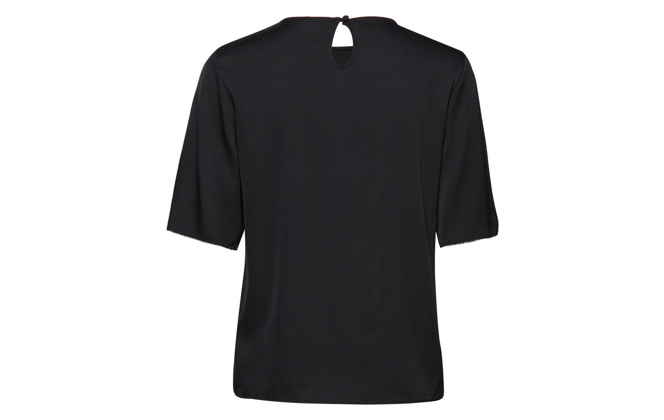 Elastane Black 5 95 Soie Tee K Équipement Filippa Silk Fw8qtC