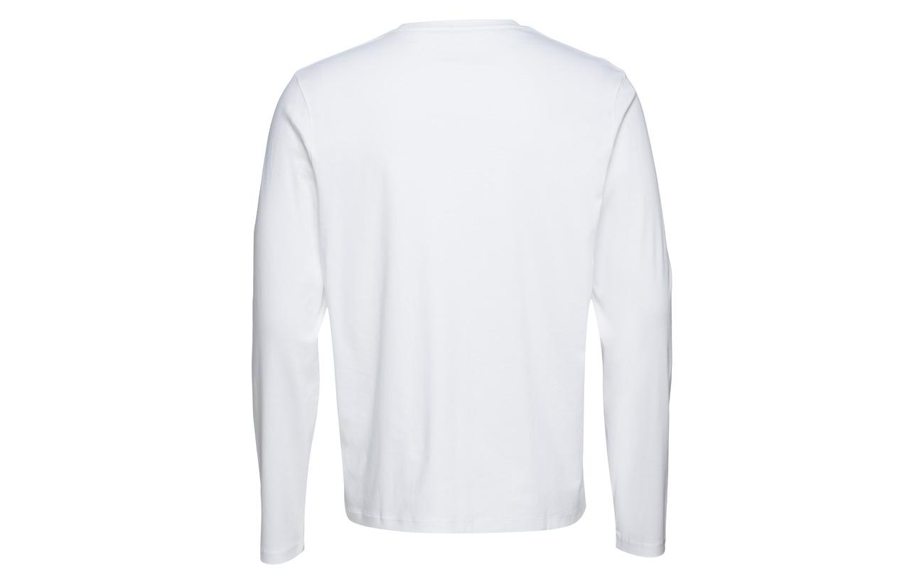 Long M White Filippa K Tee Sleeve Mercerised q60wxwt
