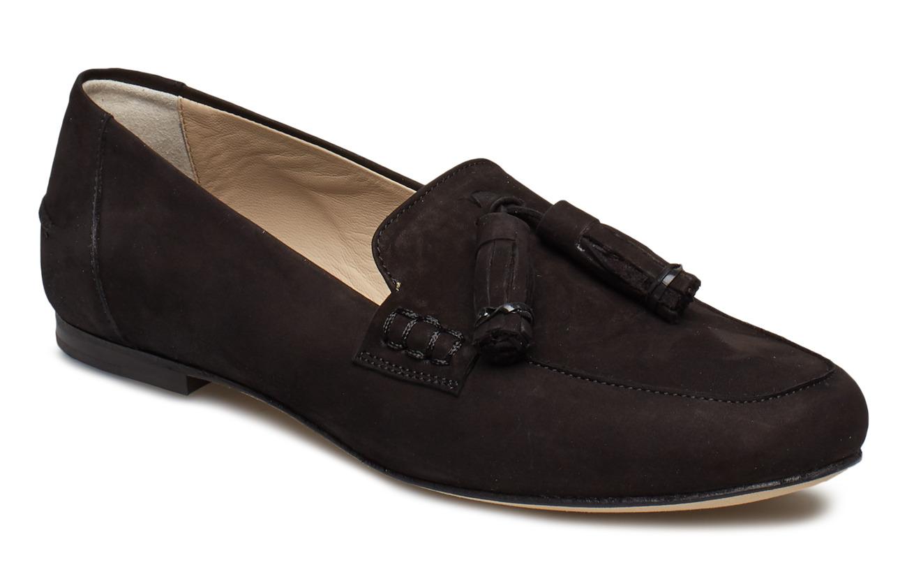 Filippa K Leslie Nubuck Loafer - BLACK NUBU