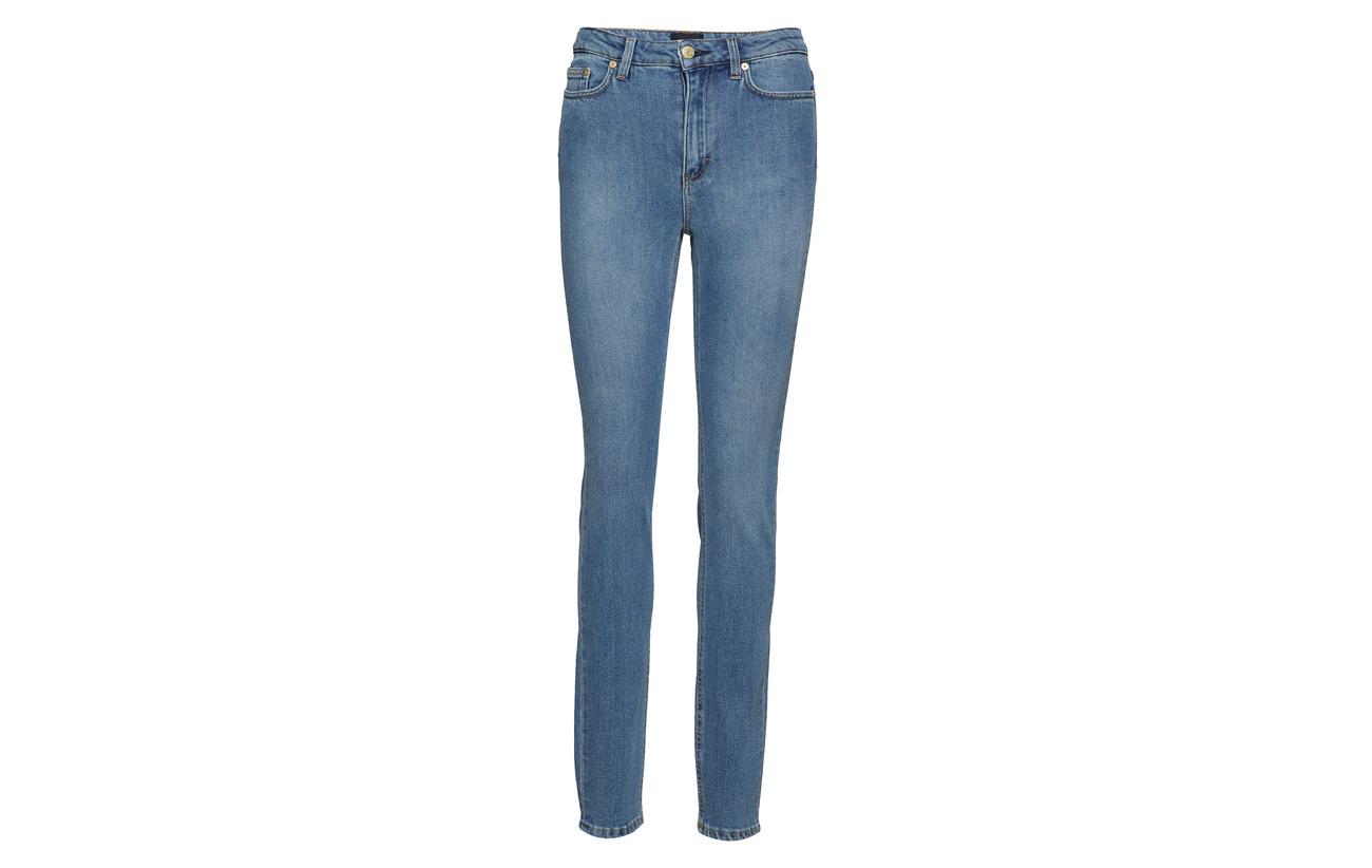 Elastane Mid Filippa Coton Vicky K 4 Washed 95 Polyester Blue Jean 1 xx6PFqgw