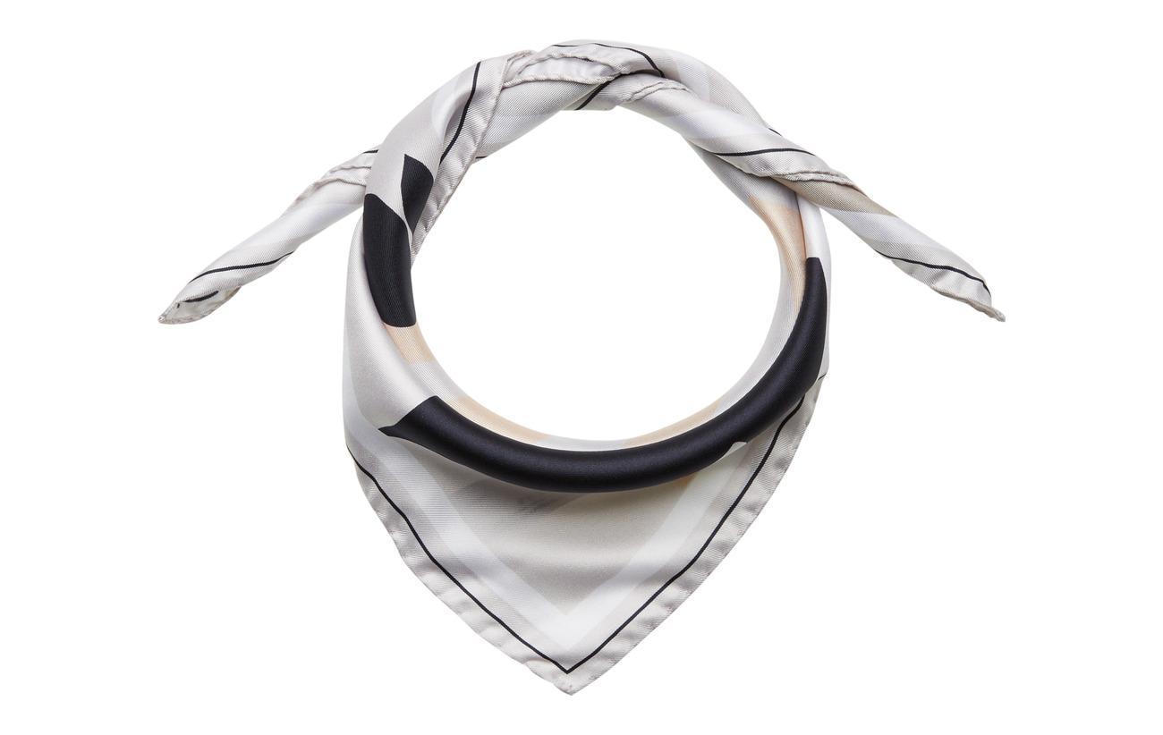 Filippa K M. Sandhamn Print Silk Scarf - OFF WHITE
