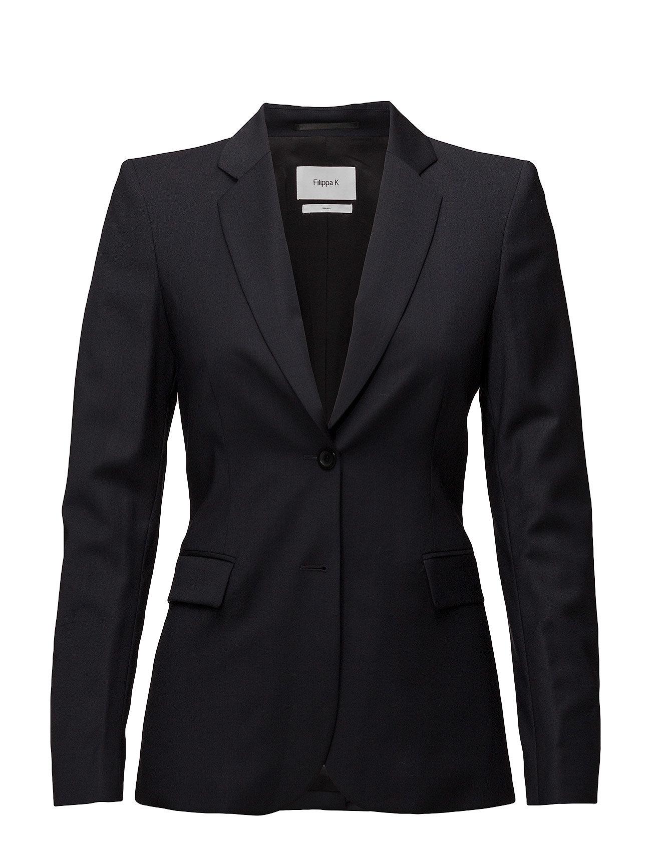 Filippa K Eve Cool Wool Jacket - DK. NAVY