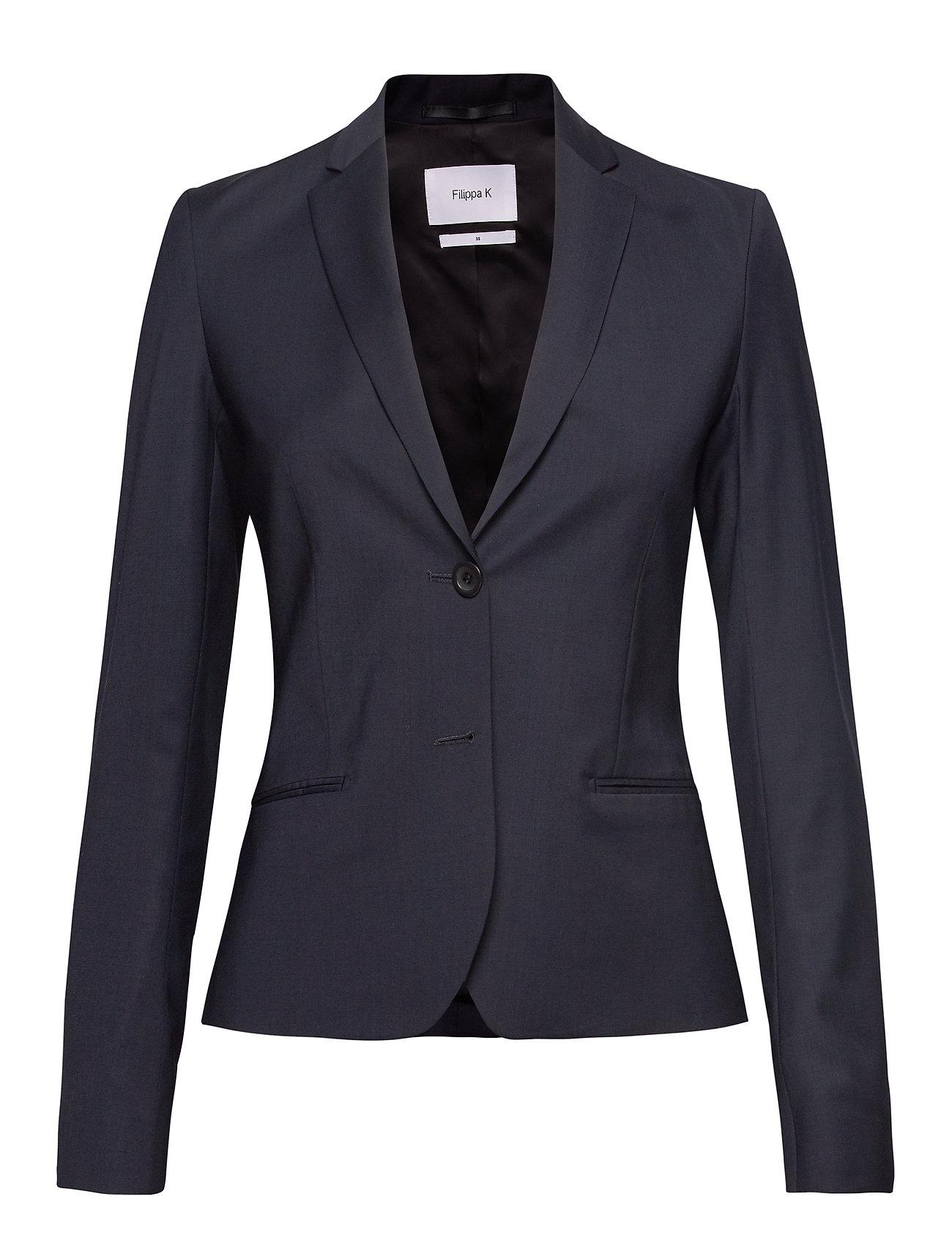 Filippa K Jackie Cool Wool Jacket - DK. NAVY
