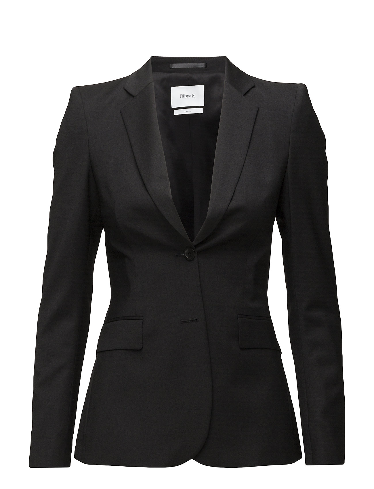 Filippa K Eve Cool Wool Jacket - BLACK