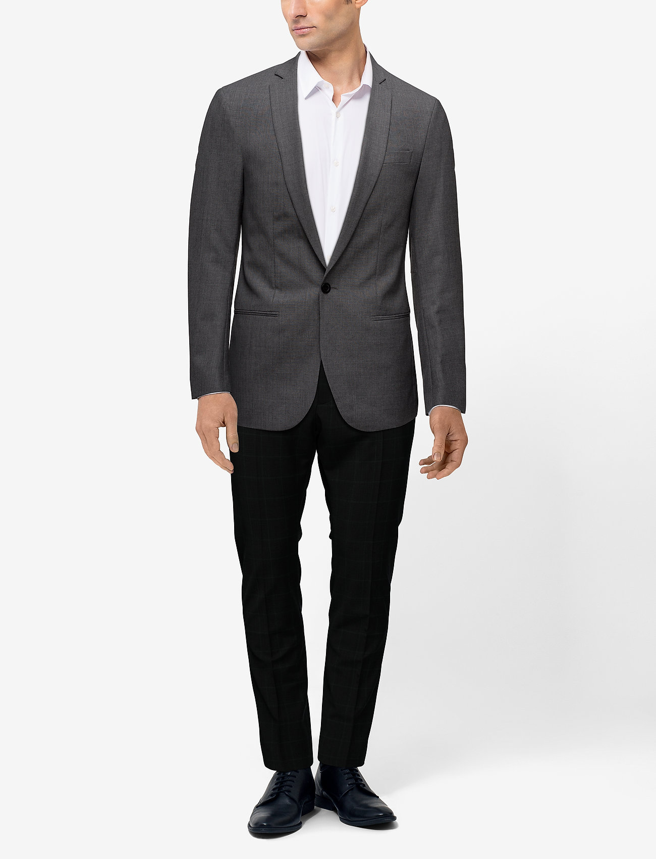 Filippa K M. Christian Cool Wool Jacket - GREY MEL.