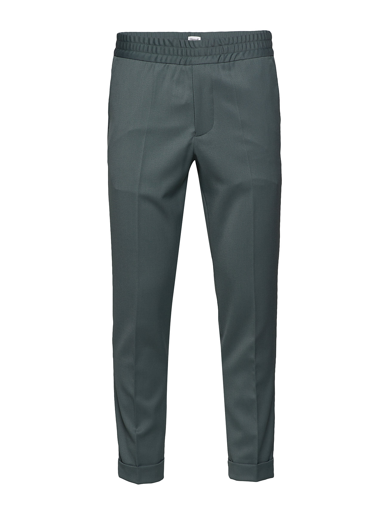 Filippa K M. Terry Gabardine Pants - DARK MINT