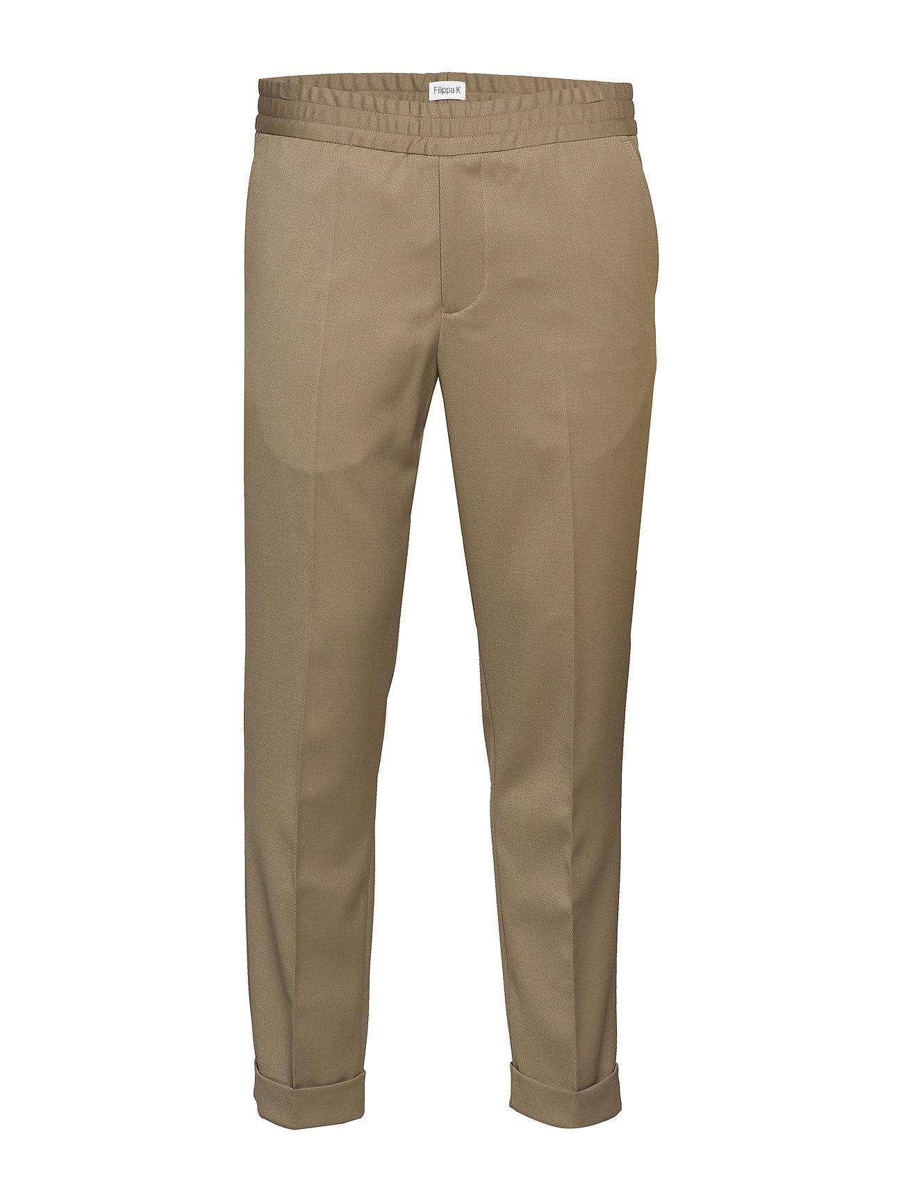 Filippa K M. Terry Gabardine Pants - GREY TAUPE