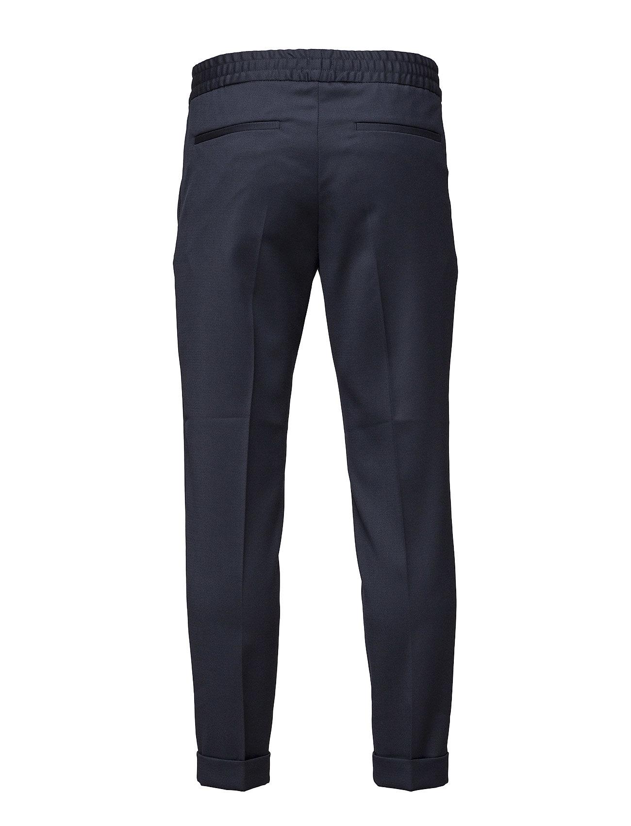 Filippa K - M. Terry Cropped Trouser - uzvalka bikses - navy - 1