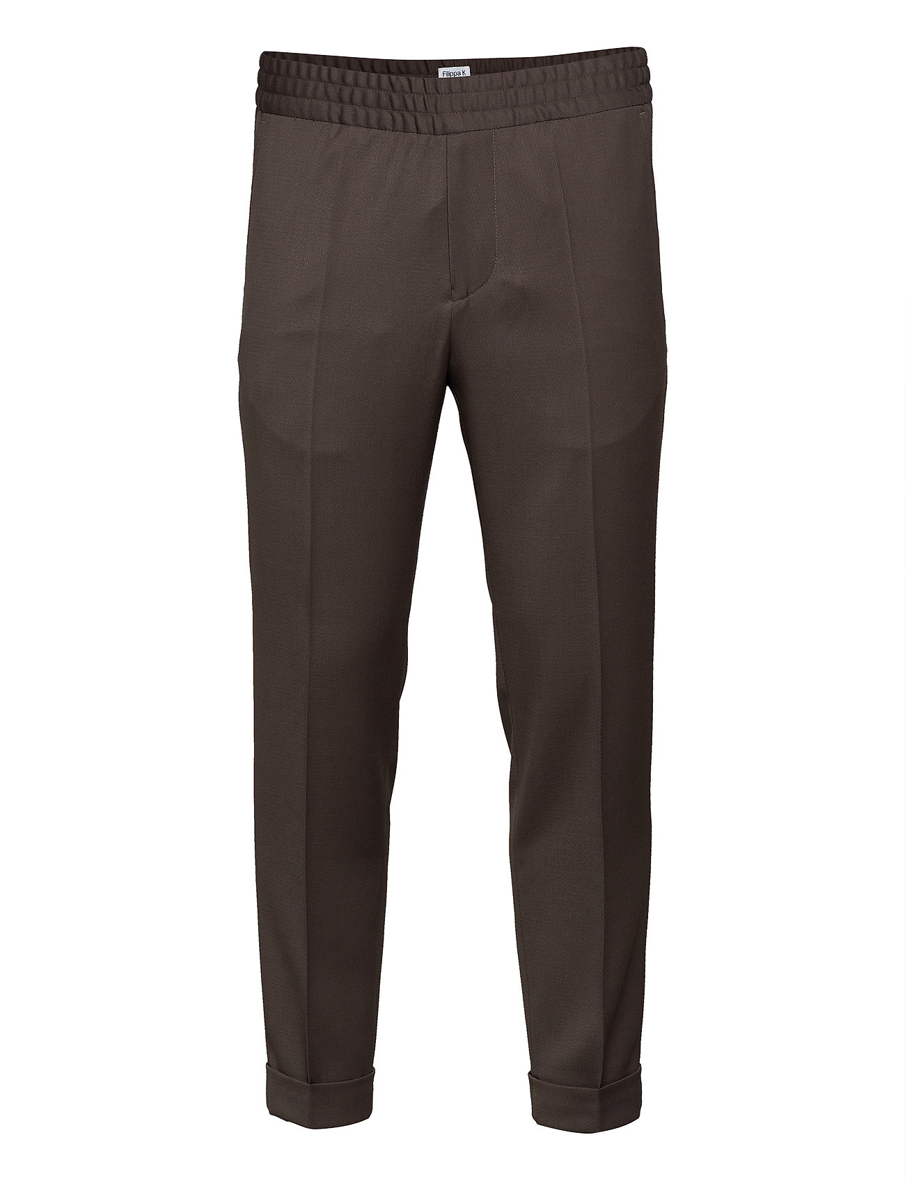 Filippa K TERRY CROPPED TROUSER - TAUPE