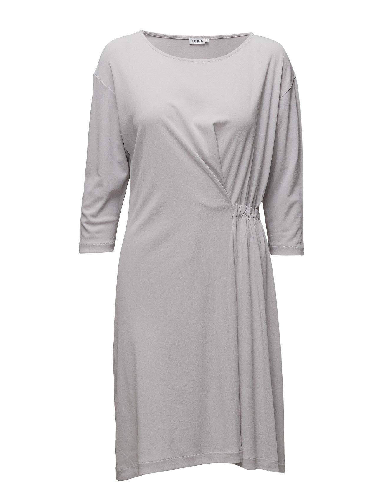 Filippa K Blouson Jersey Dress - MOON
