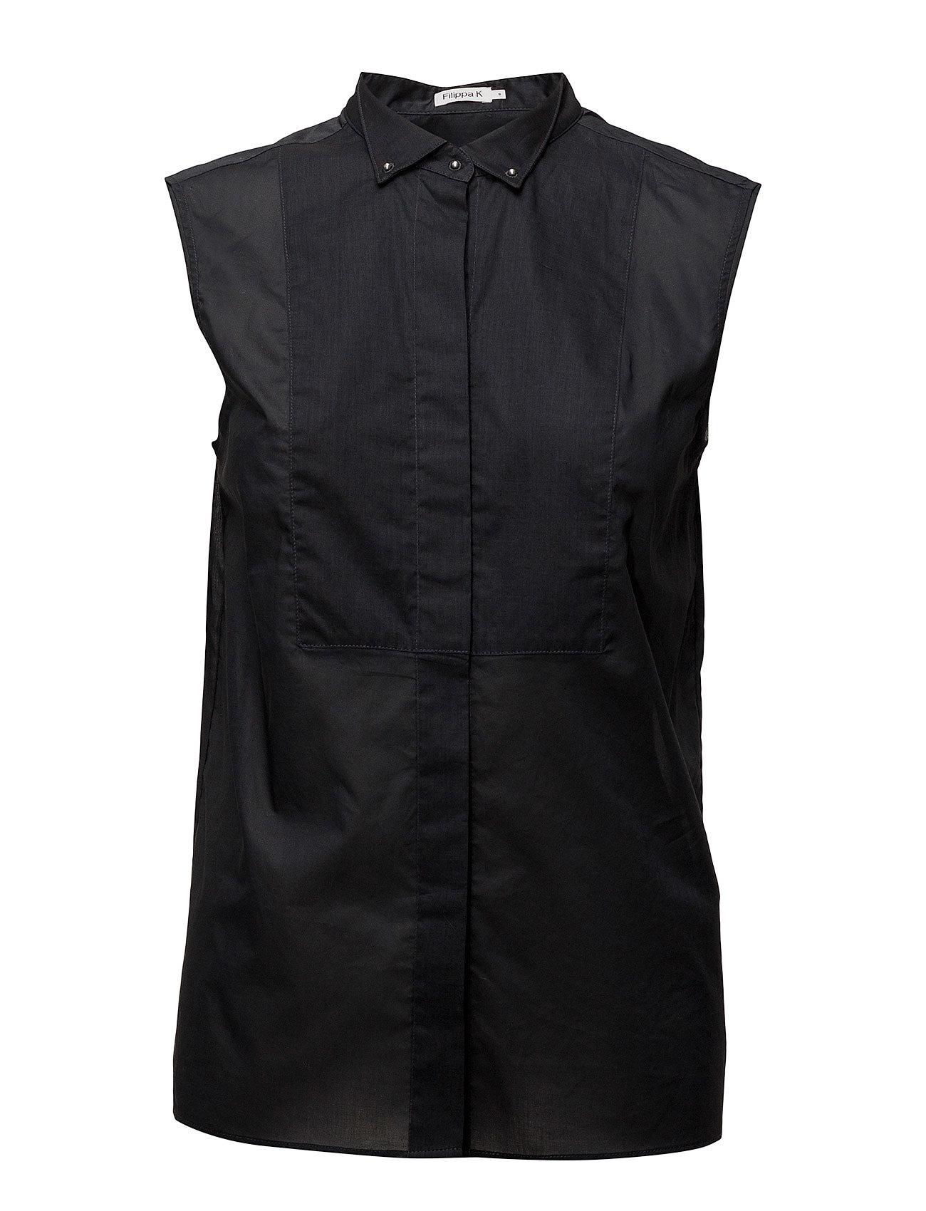 Filippa K Tuxedo Sleeveless shirt Ögrönlar