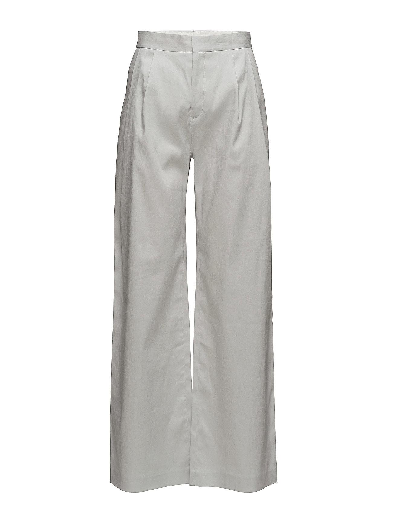 Image of Katie Pleated Trousers Vide Bukser Grå Filippa K (3430201971)