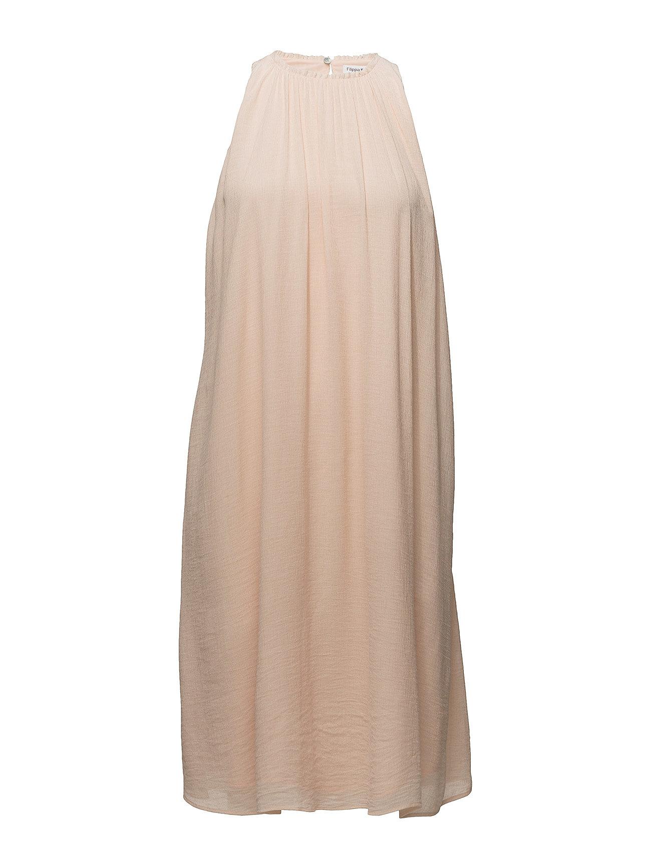 Filippa K Flowy Crinkle Dress - CHAMPAGNE