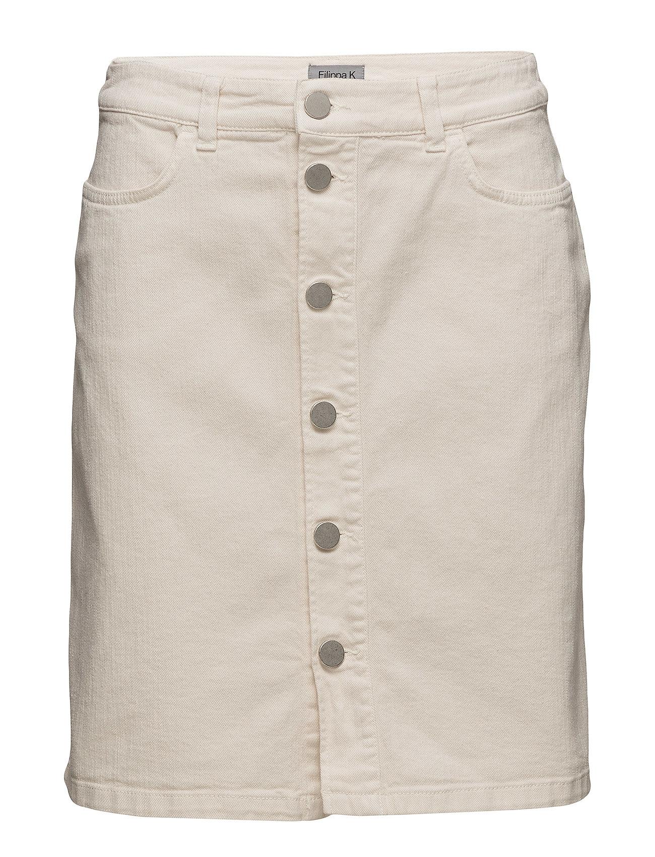 Image of Ecru Denim Skirt Skirts Hvid Filippa K (3433036833)