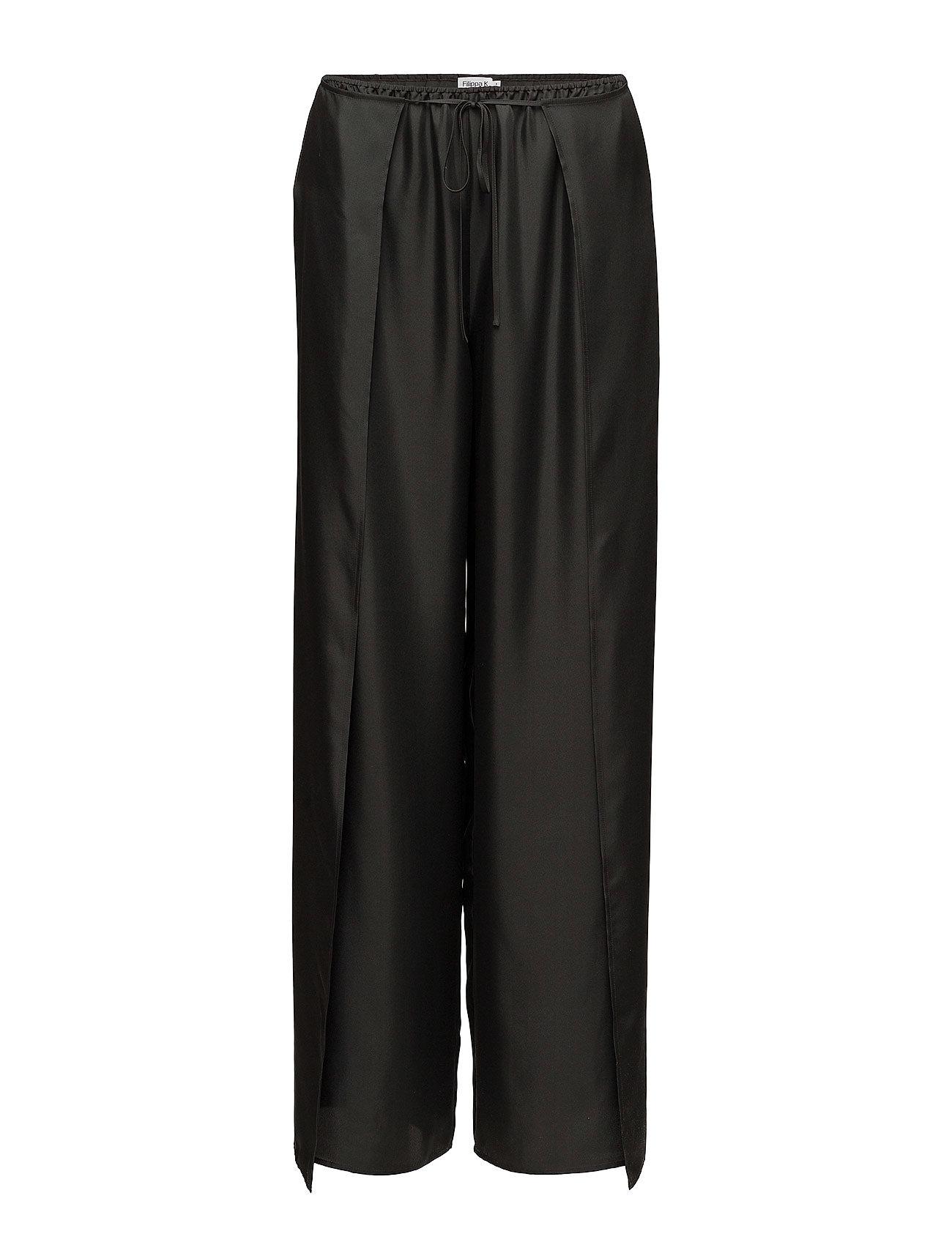 Filippa K Lulu Silk Trousers - ENIGMA