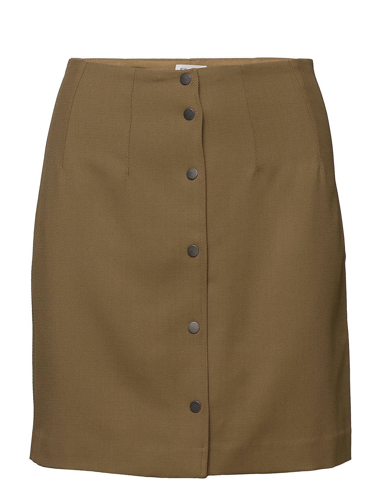 Filippa K Twill Skirt - KELP