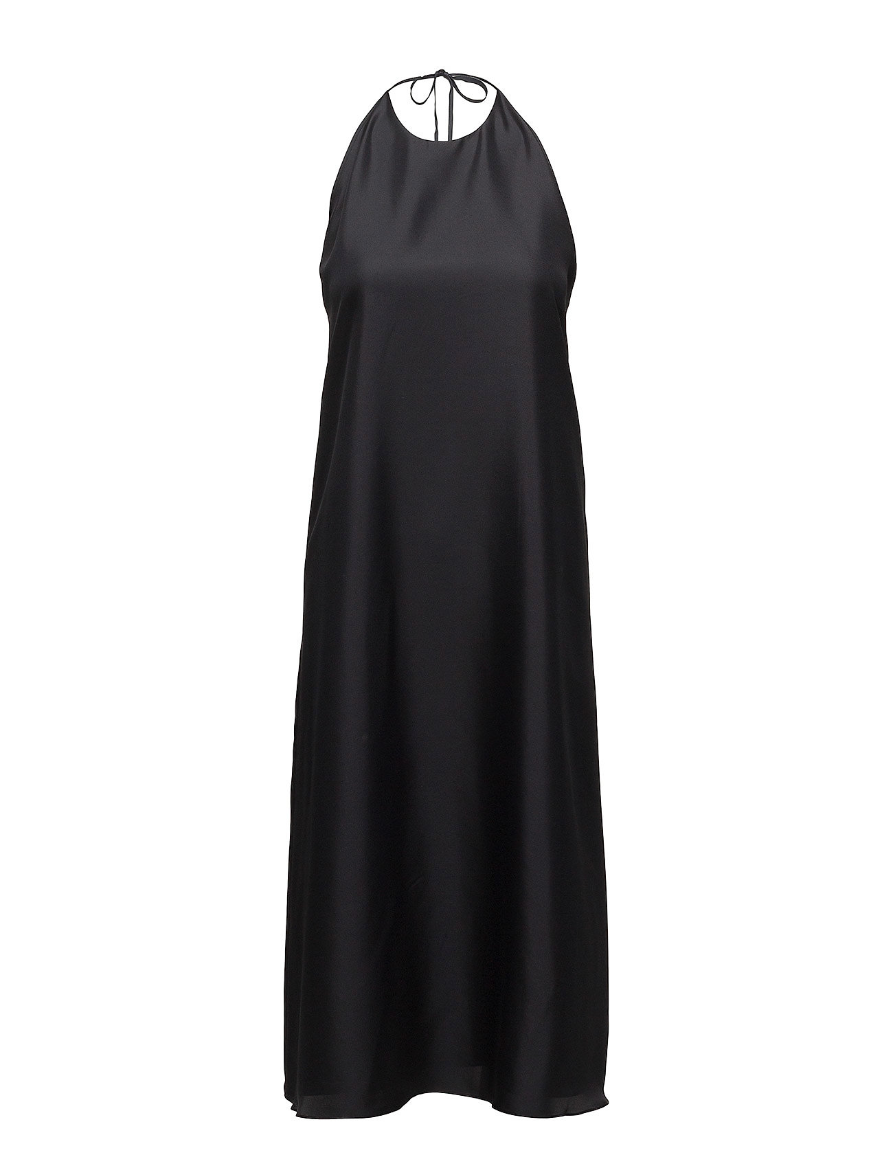 Filippa K Silk Halter Dress - BLACK