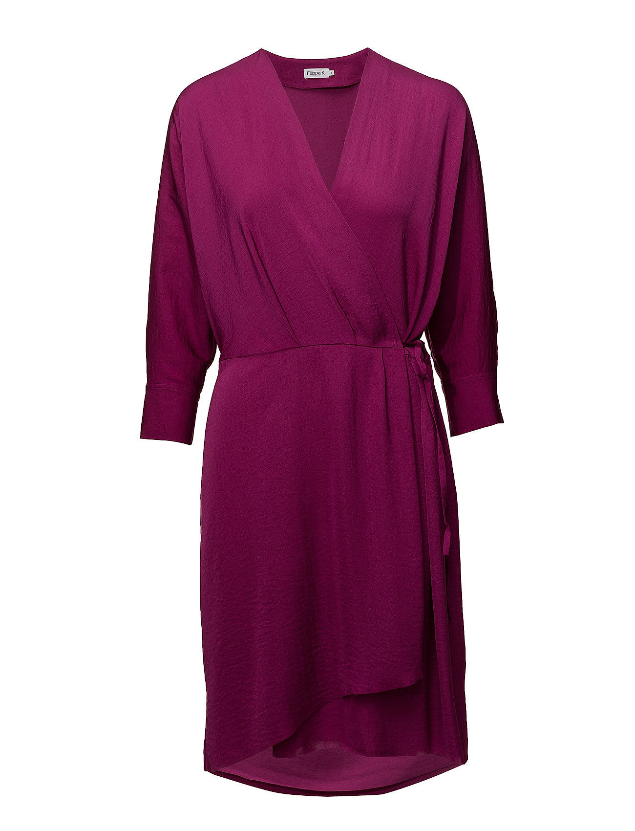 Filippa K Slinky Wrap Dress - ORCHID