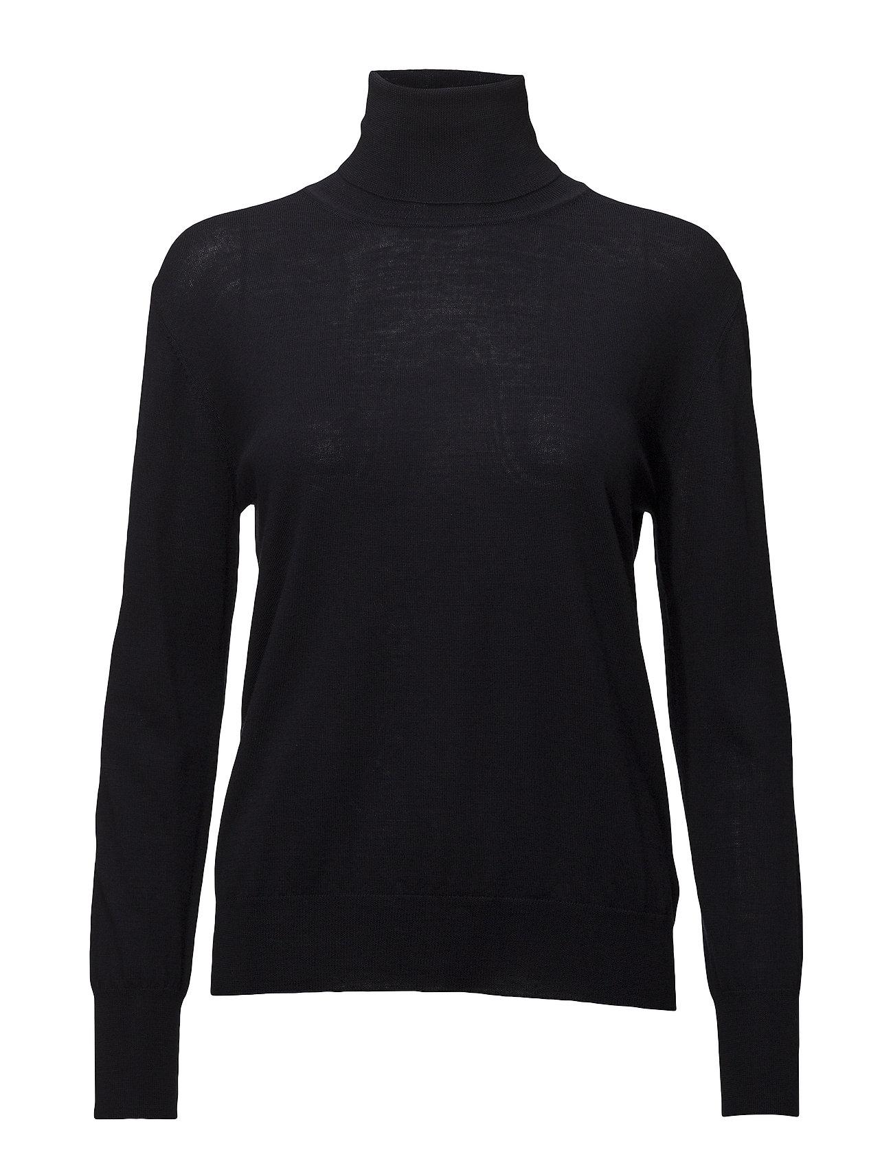 Filippa K Merino Roller Neck Sweater - NAVY