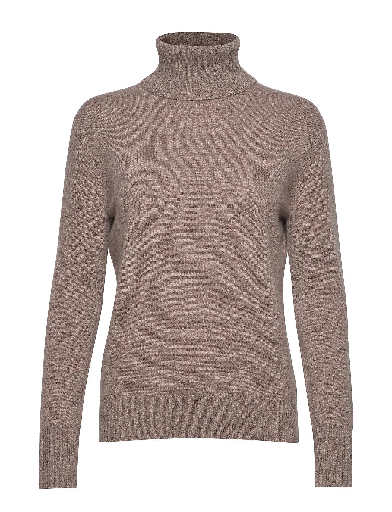 Filippa K Cashmere Roller Neck Sweater - TAUPE