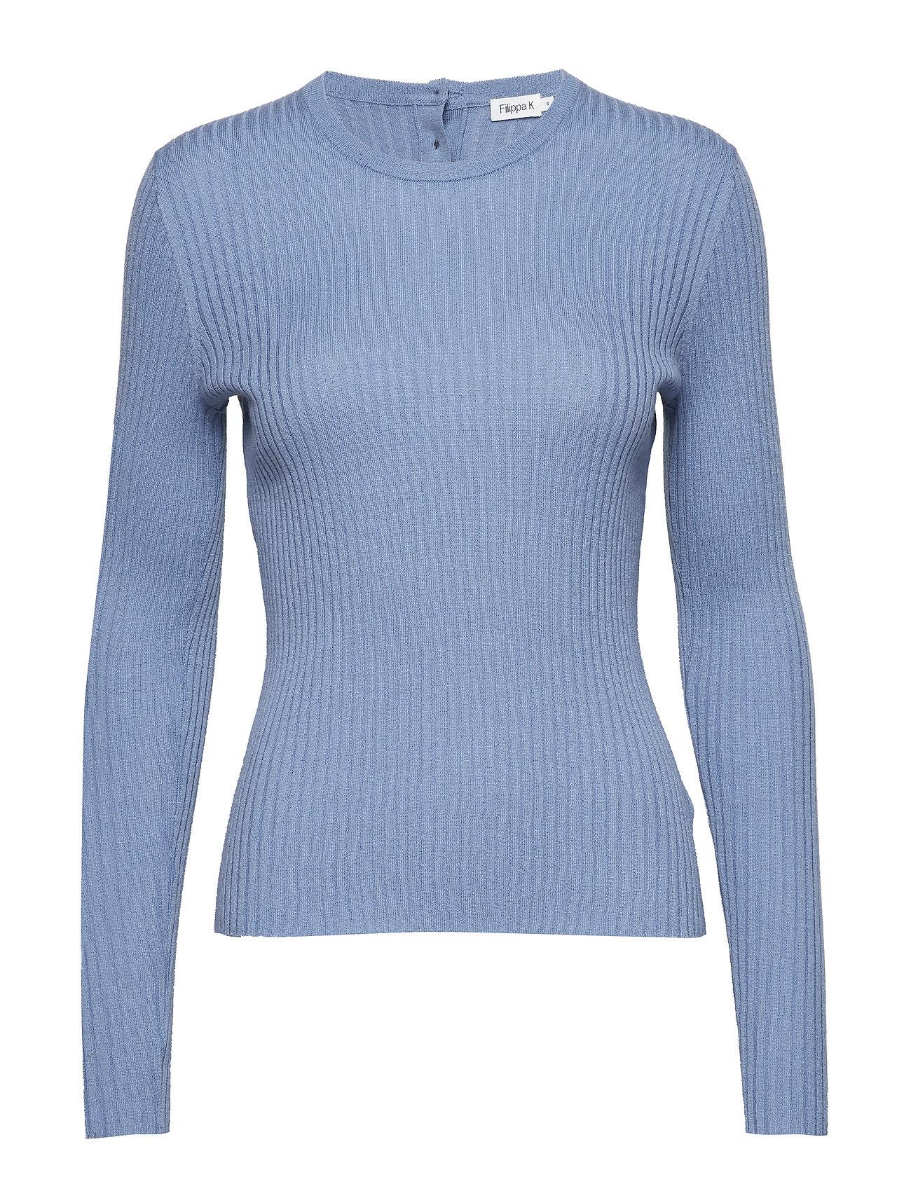 Filippa K Flat Rib R-neck Sweater