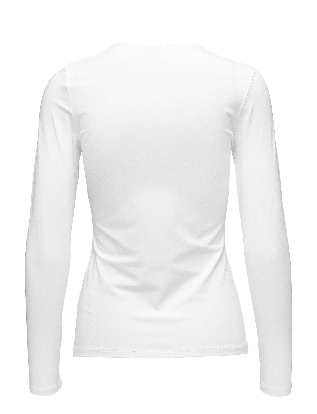 K SleevewhiteFilippa Cotton Cotton Stretch Long uPXkZi