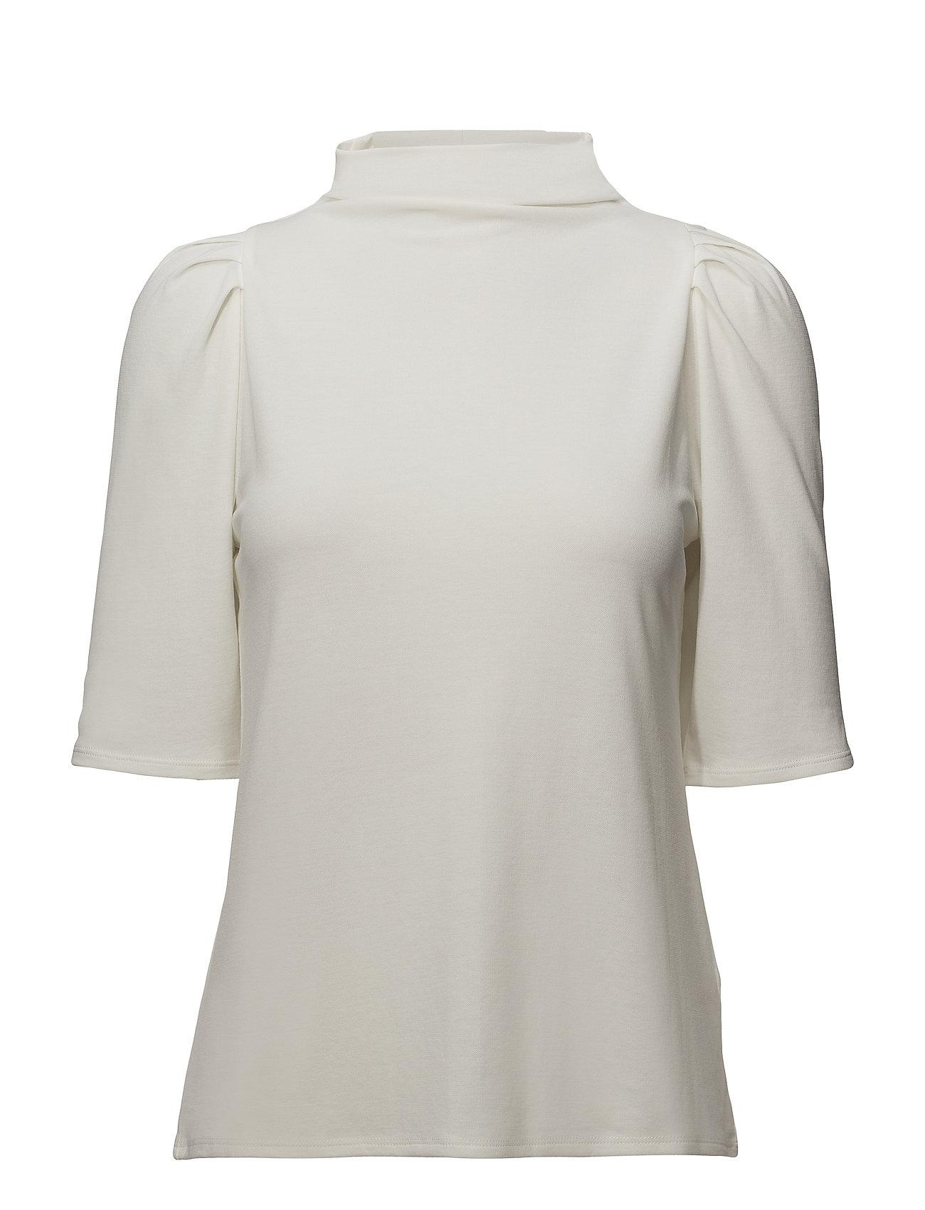 Filippa K Cotton Crepe Pleat Top