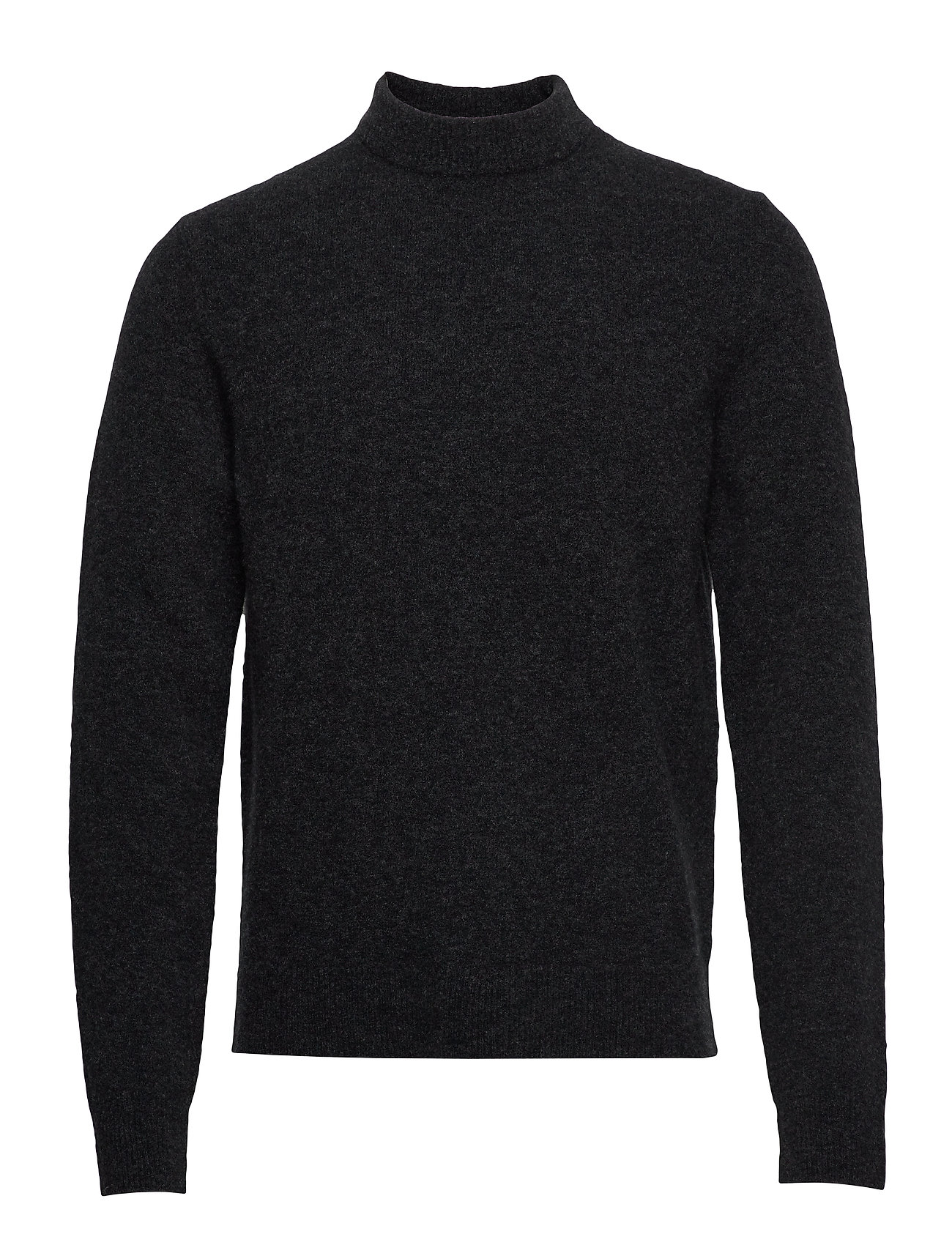 Filippa K M. Yak R-Neck Sweater - CHARCOAL M