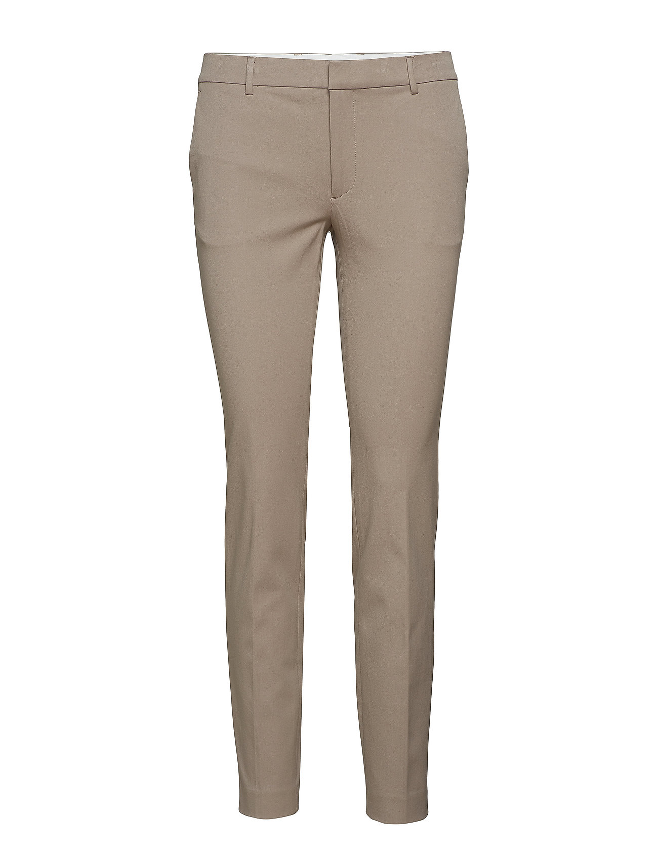Filippa K Sophia Cotton Stretch Trousers - TAUPE