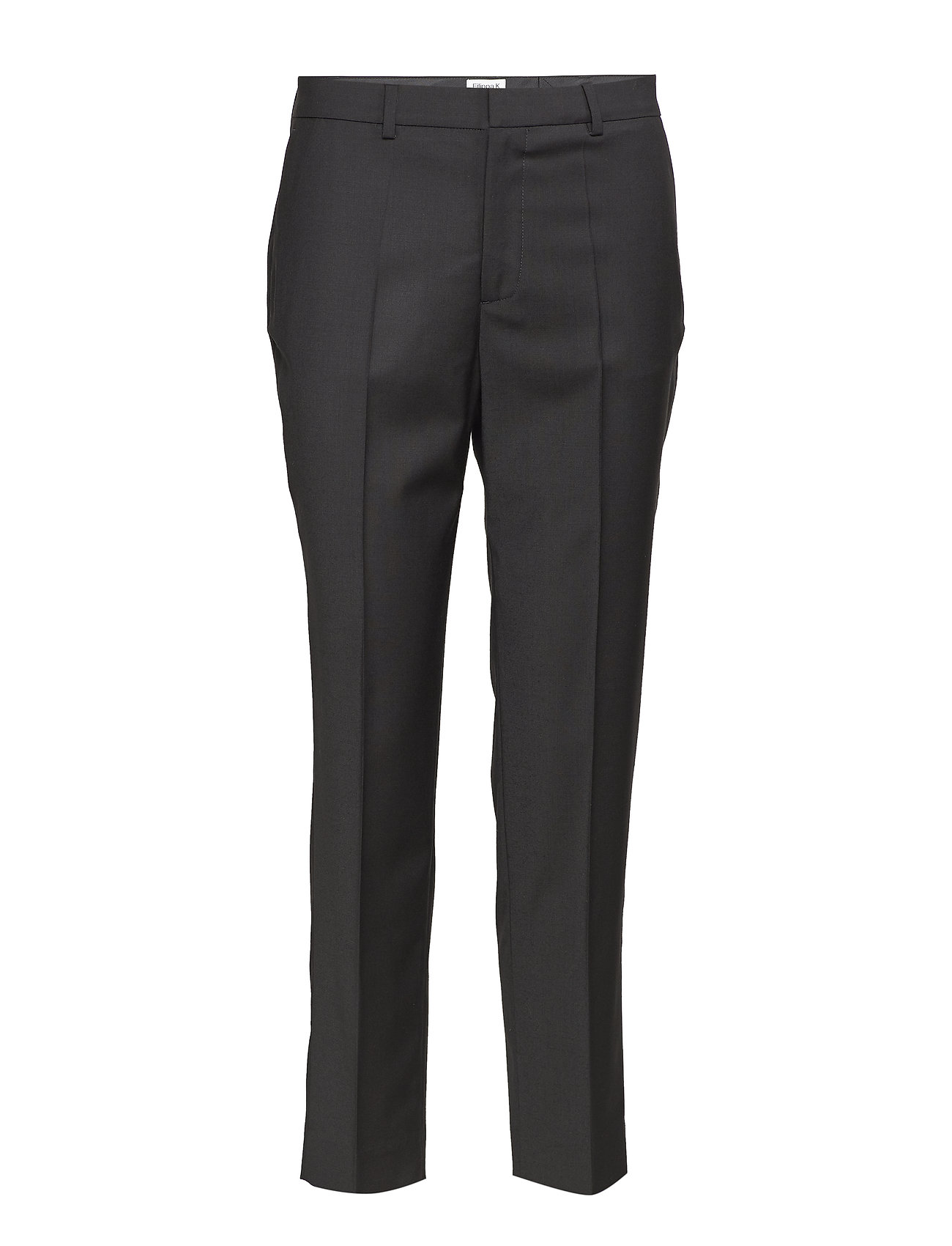 Filippa K Emma Cropped Cool wool Trouser - BLACK