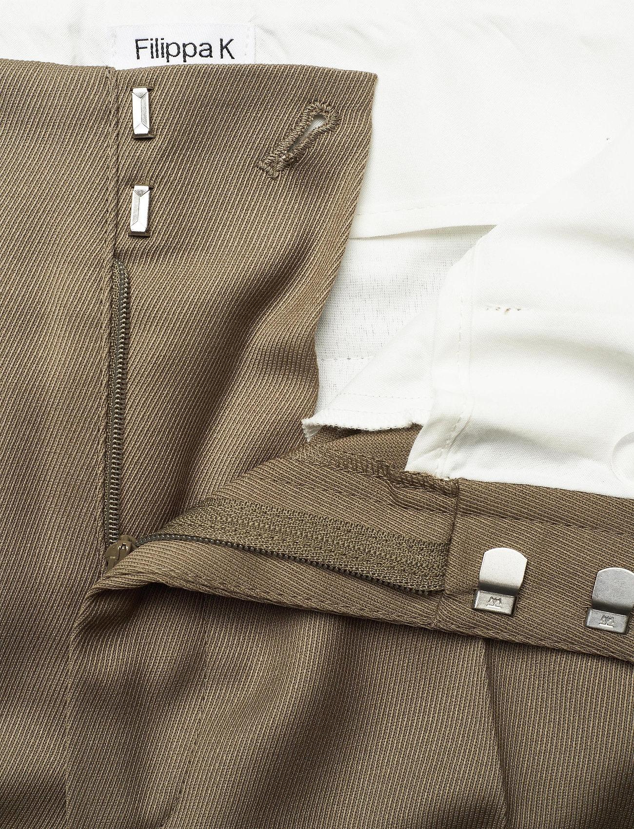 Filippa K - Karlie Trouser - broeken med straight ben - grey taupe - 3