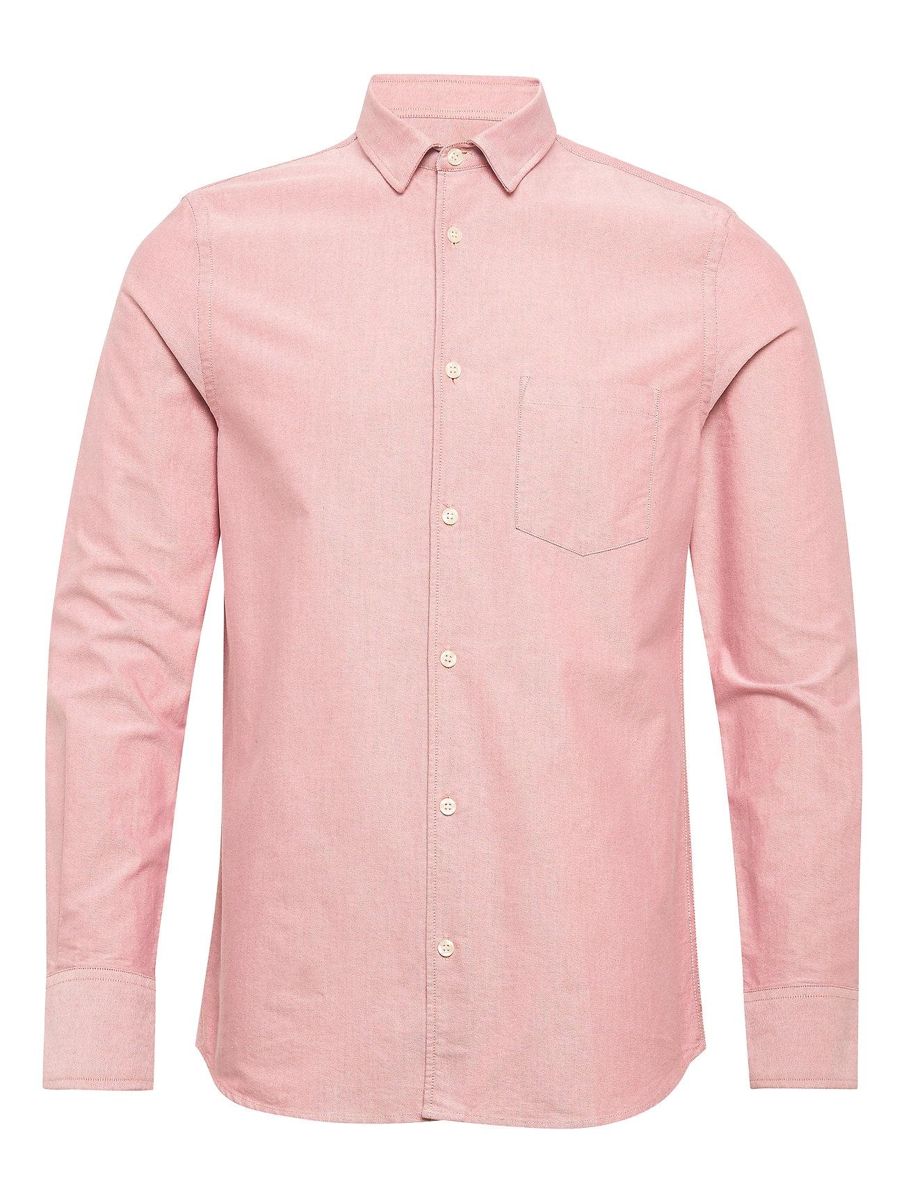 Filippa K M. Tim Oxford Shirt - PINK CEDAR