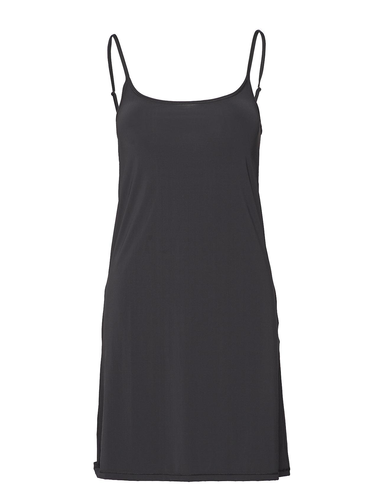 Filippa K Tech Slip Dress - BLACK