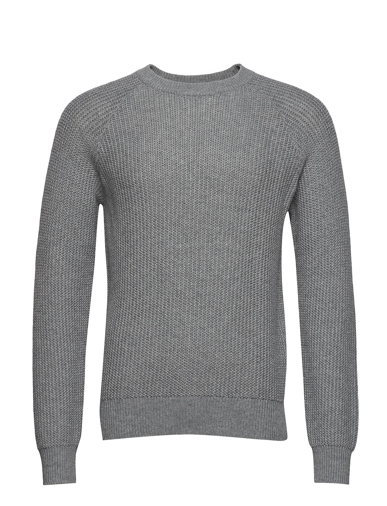 901a7ec64bcc M. Wave Stitch Sweater (Grey Mel.) (£131.60) - Filippa K -